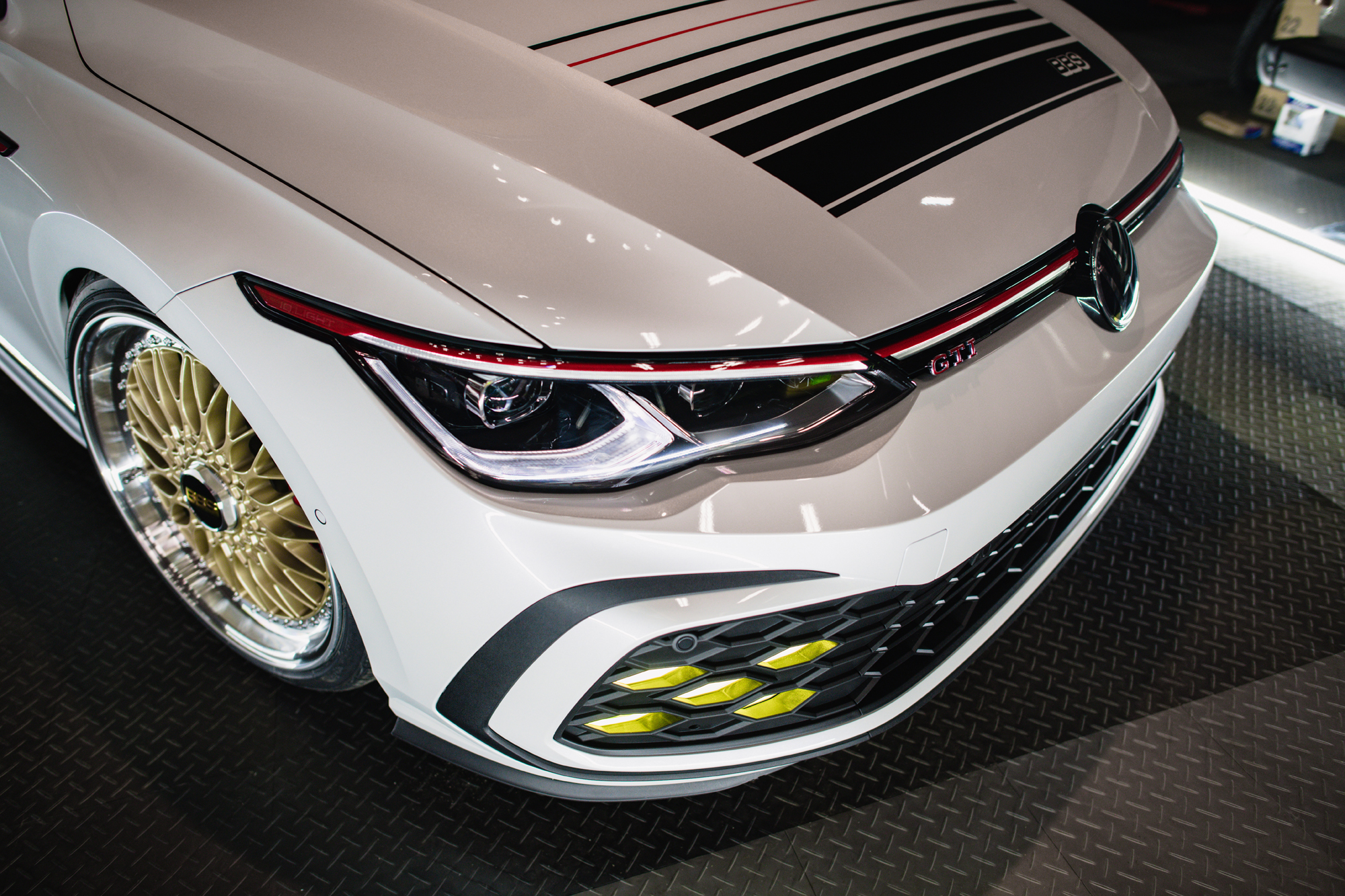 VW Golf GTi BBS concept interior front