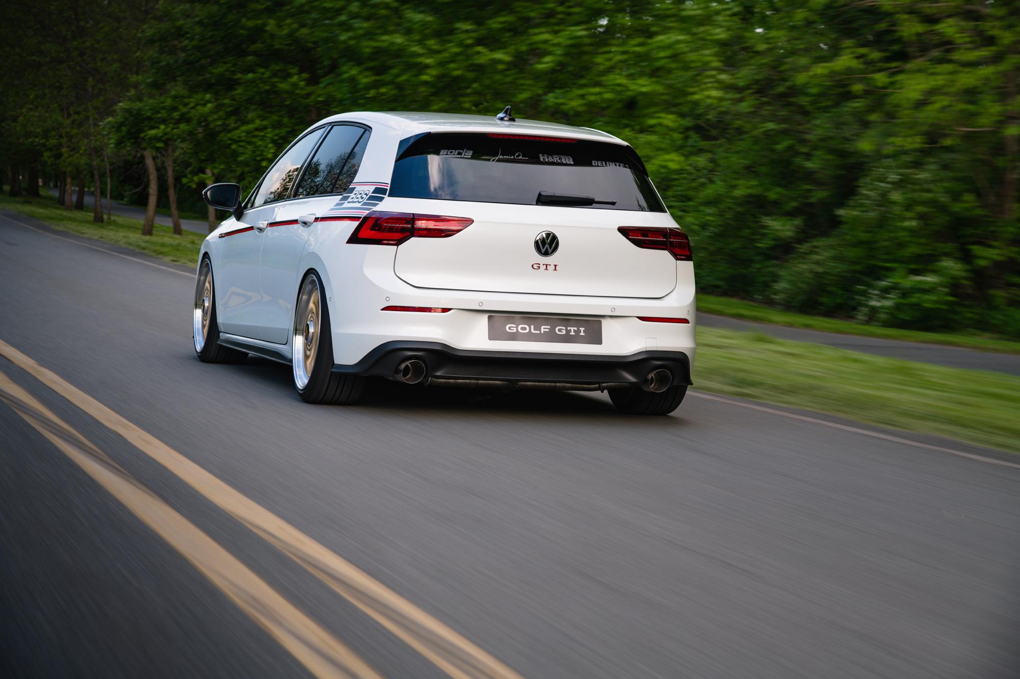 VW Golf GTi BBS concept rear 2