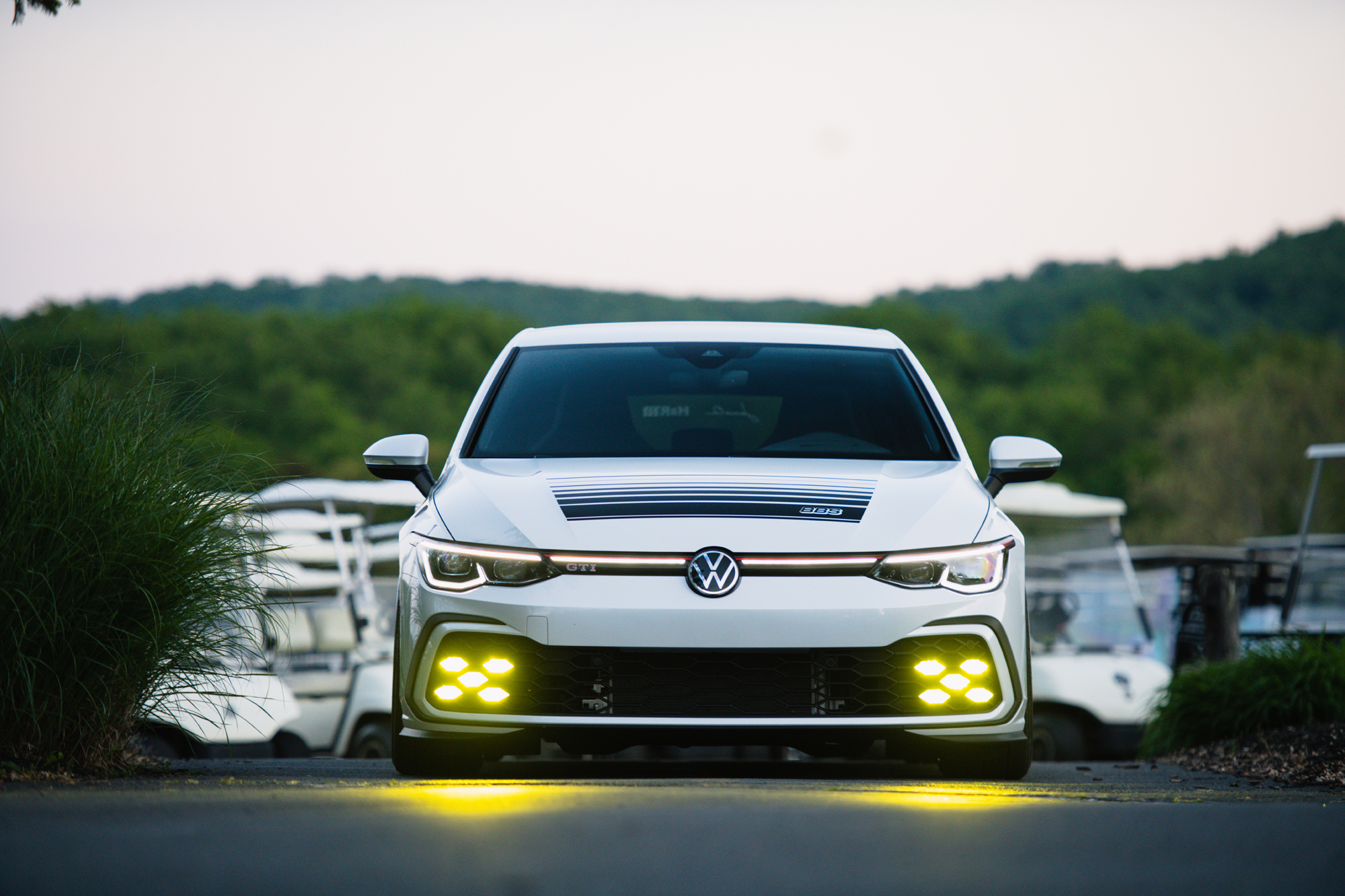 VW Golf GTi BBS concept front 4