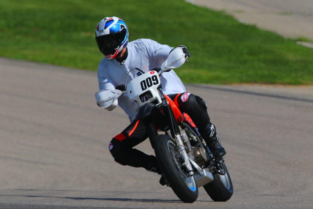 Kyle smith XR250R motard on track 2