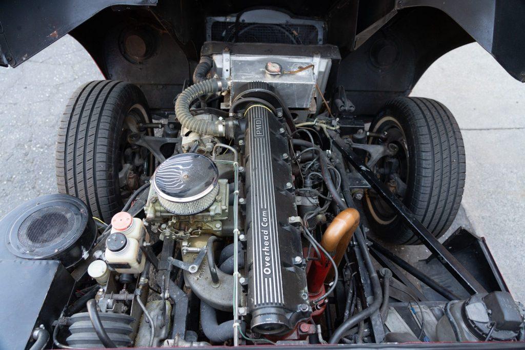 1963 Jaguar XKE pontiac swap engine