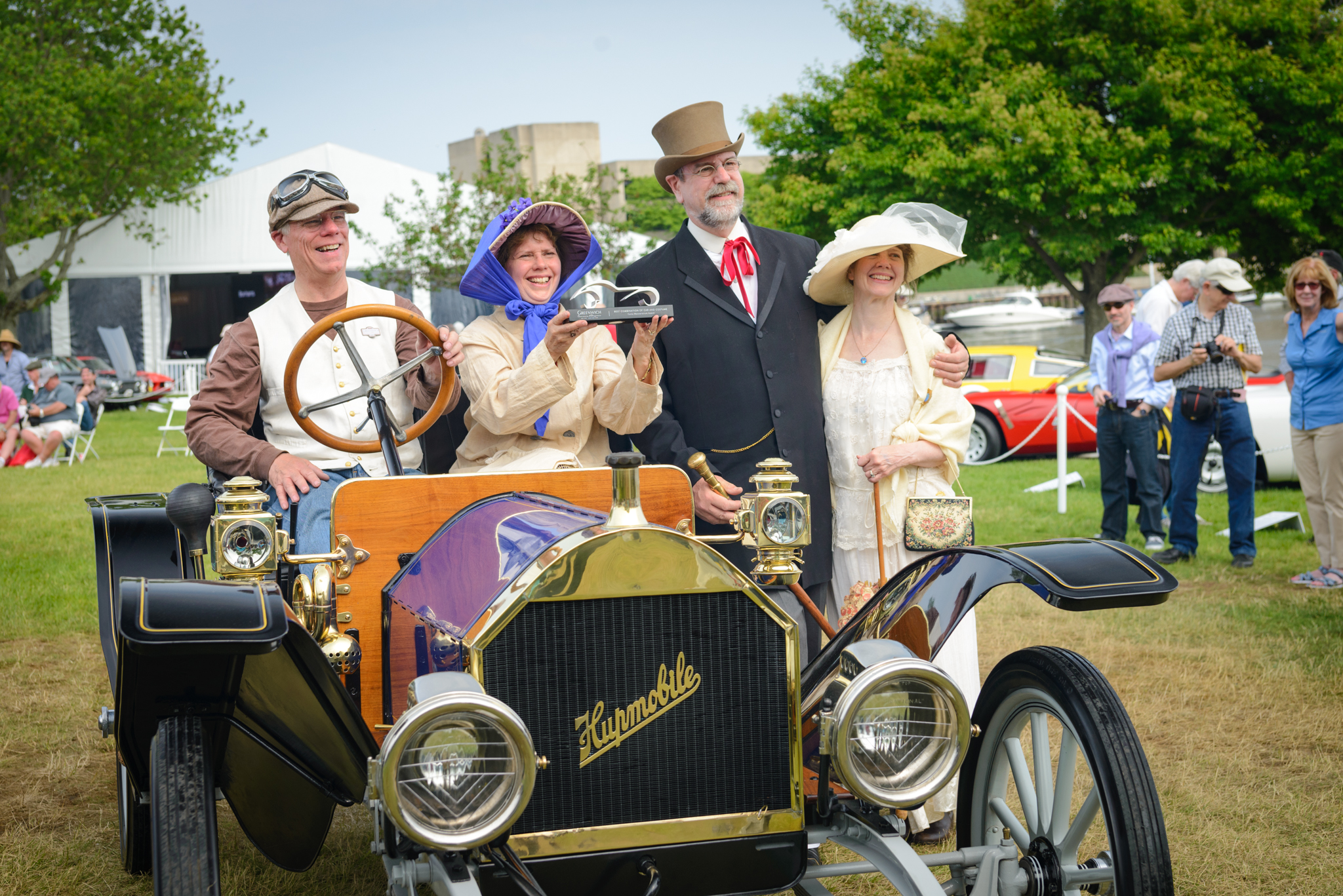 Greenwich concours costume