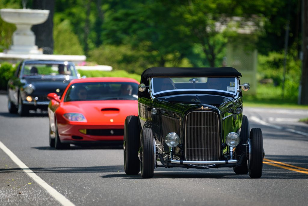 Greenwich concours drive in