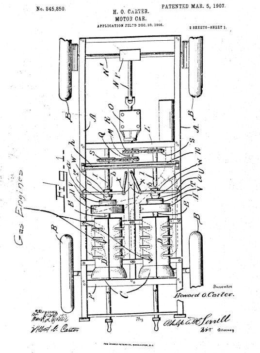 1907 Carter patent 1