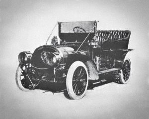 1907-08 Carter Two-Engine Car - full body