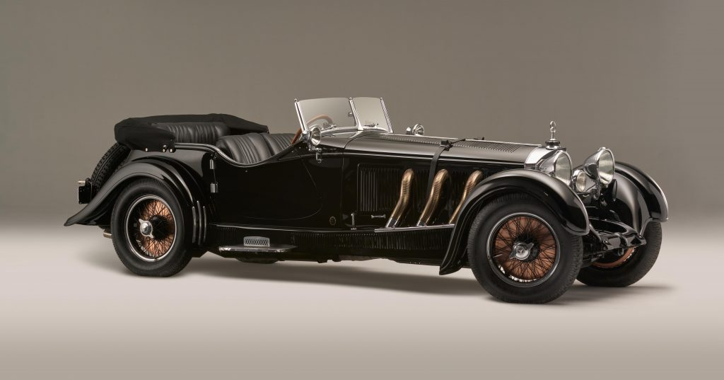 1928 Mercedes-Benz front three-quarter