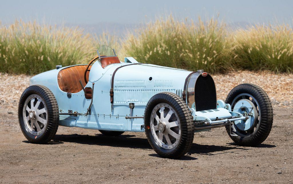 1929 Bugatti Type 35B Grand Prix front three-quarter