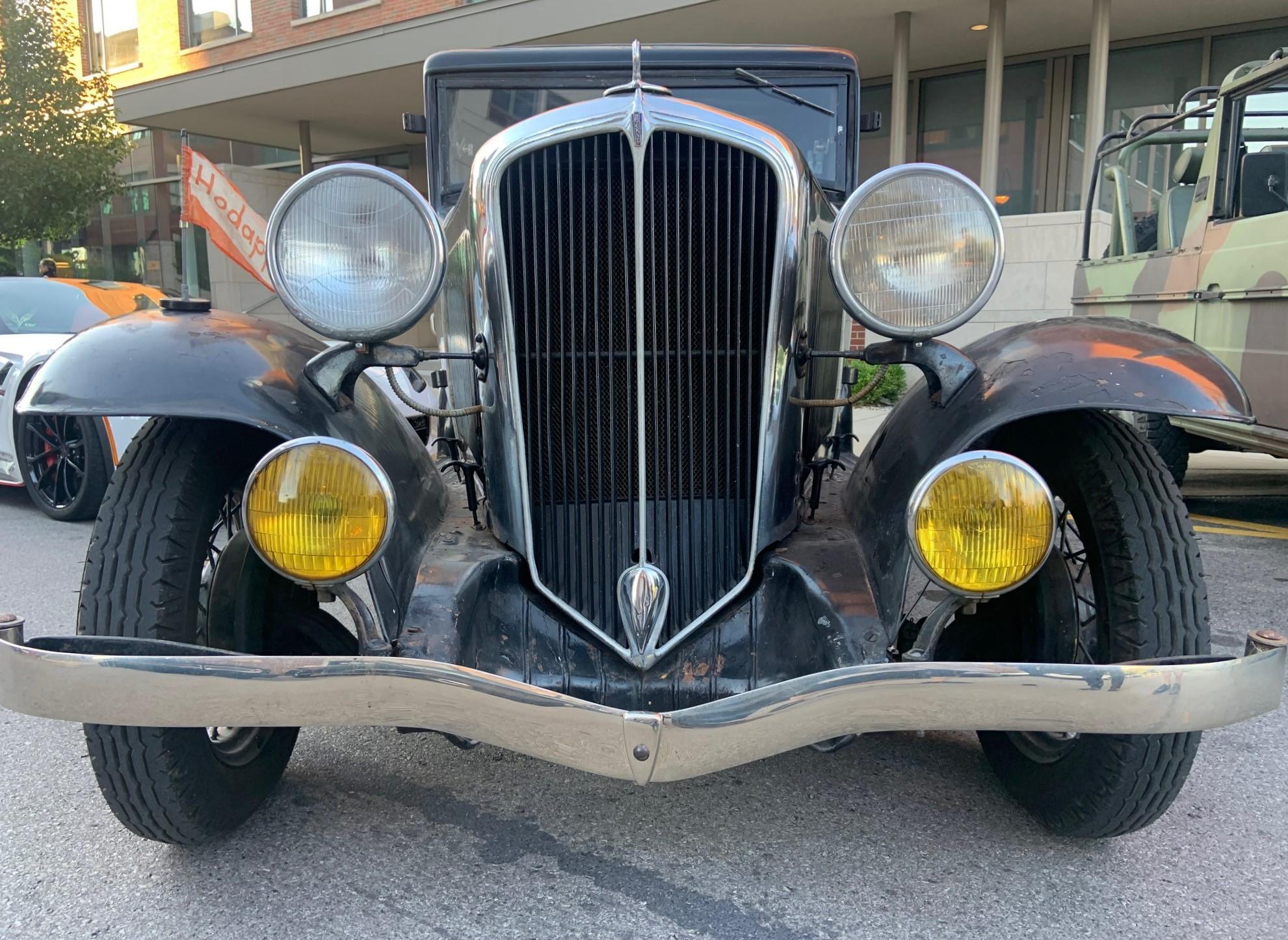 1932 Rockne - full front grille