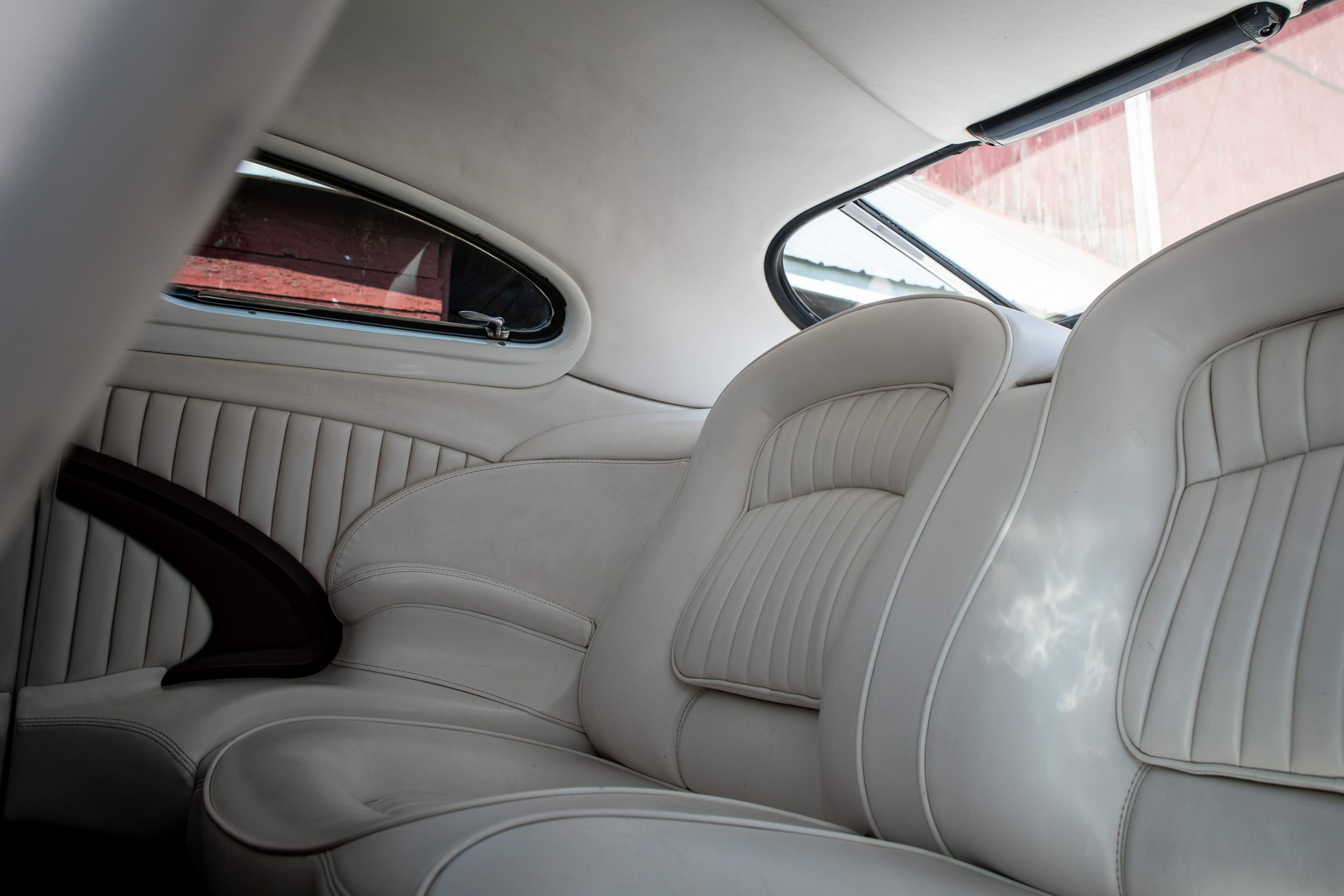 mercury lead sled custom rear seat