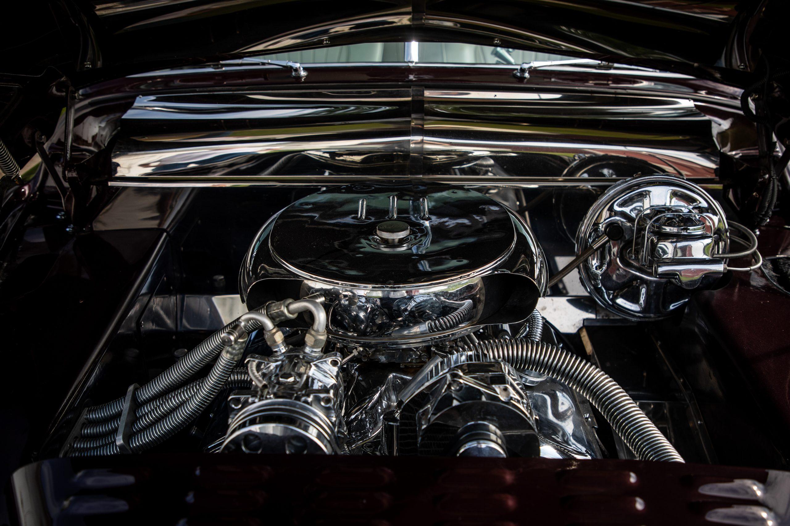 mercury lead sled custom engine