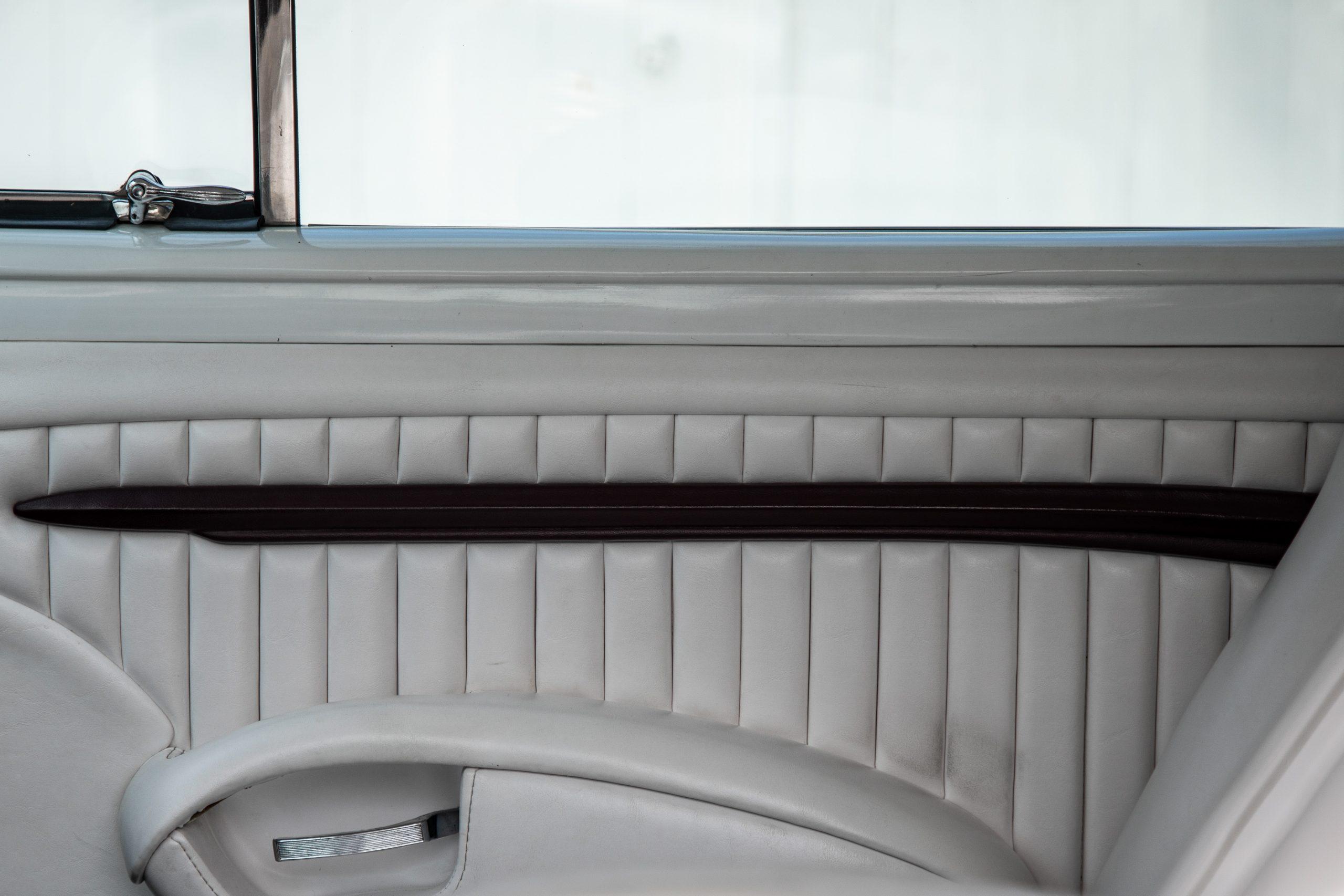 mercury lead sled custom upholstery