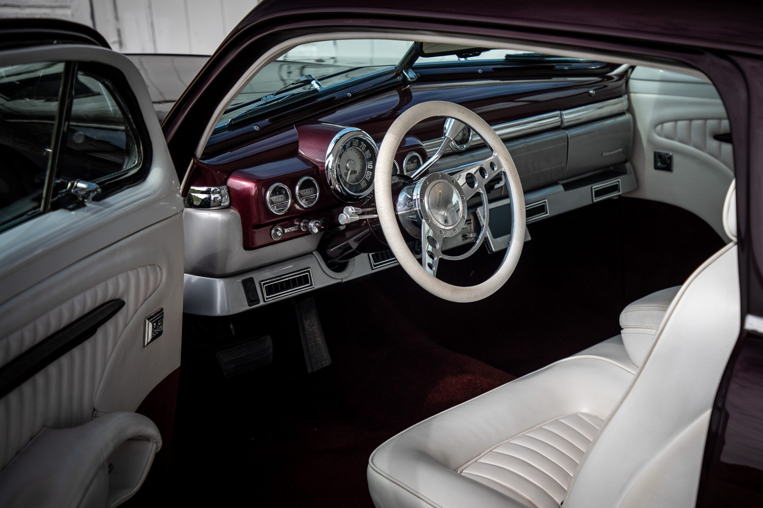 mercury lead sled custom interior