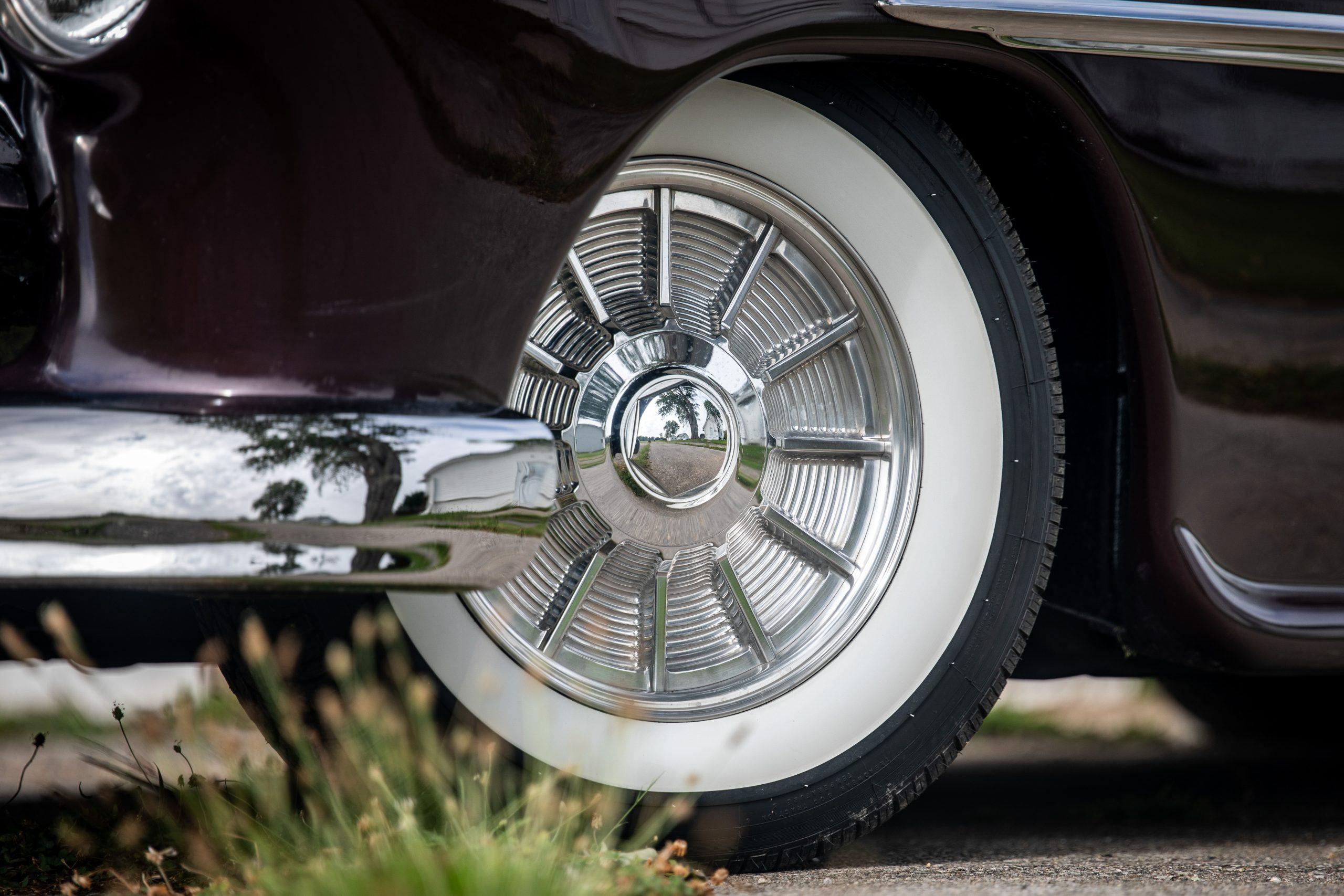 mercury lead sled custom front wheel