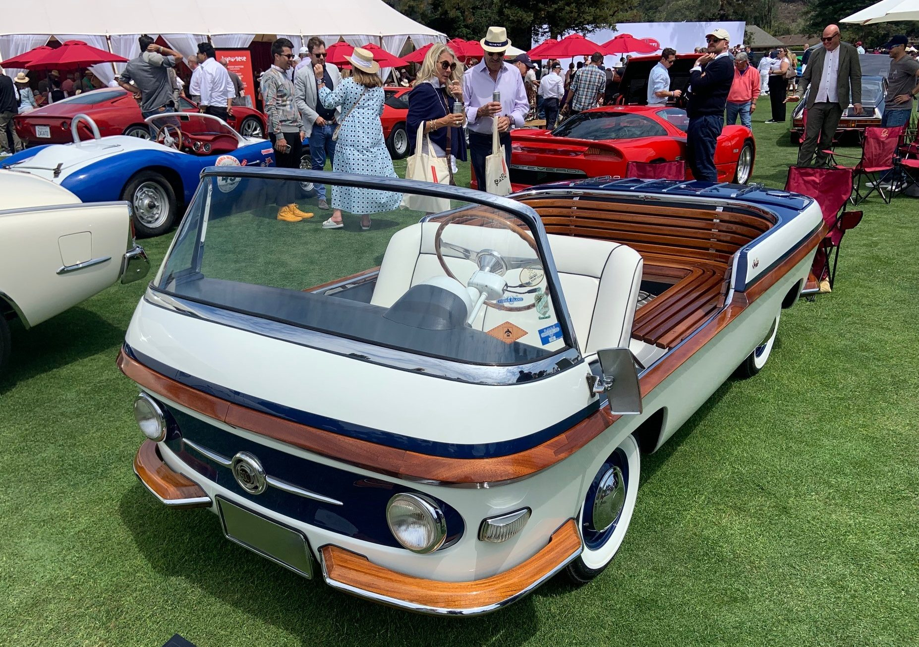 1957 Fiat 600 Eden Roc - full from front