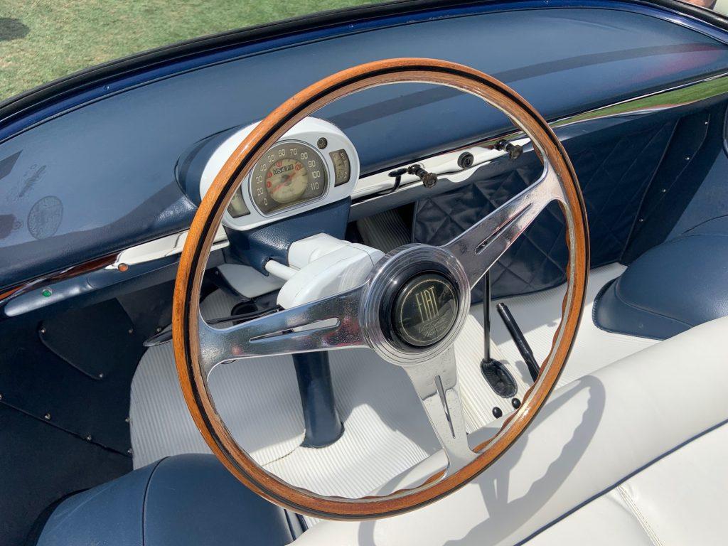 1957 Fiat 600 Eden Roc - Steering wheel