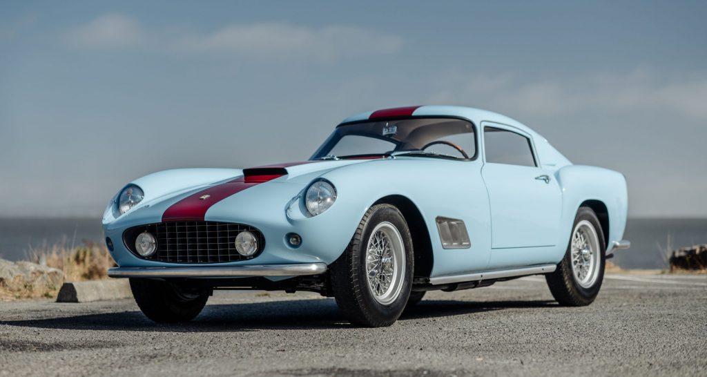 1958-Ferrari-250-GT-LWB-Berlinetta front three-quarter