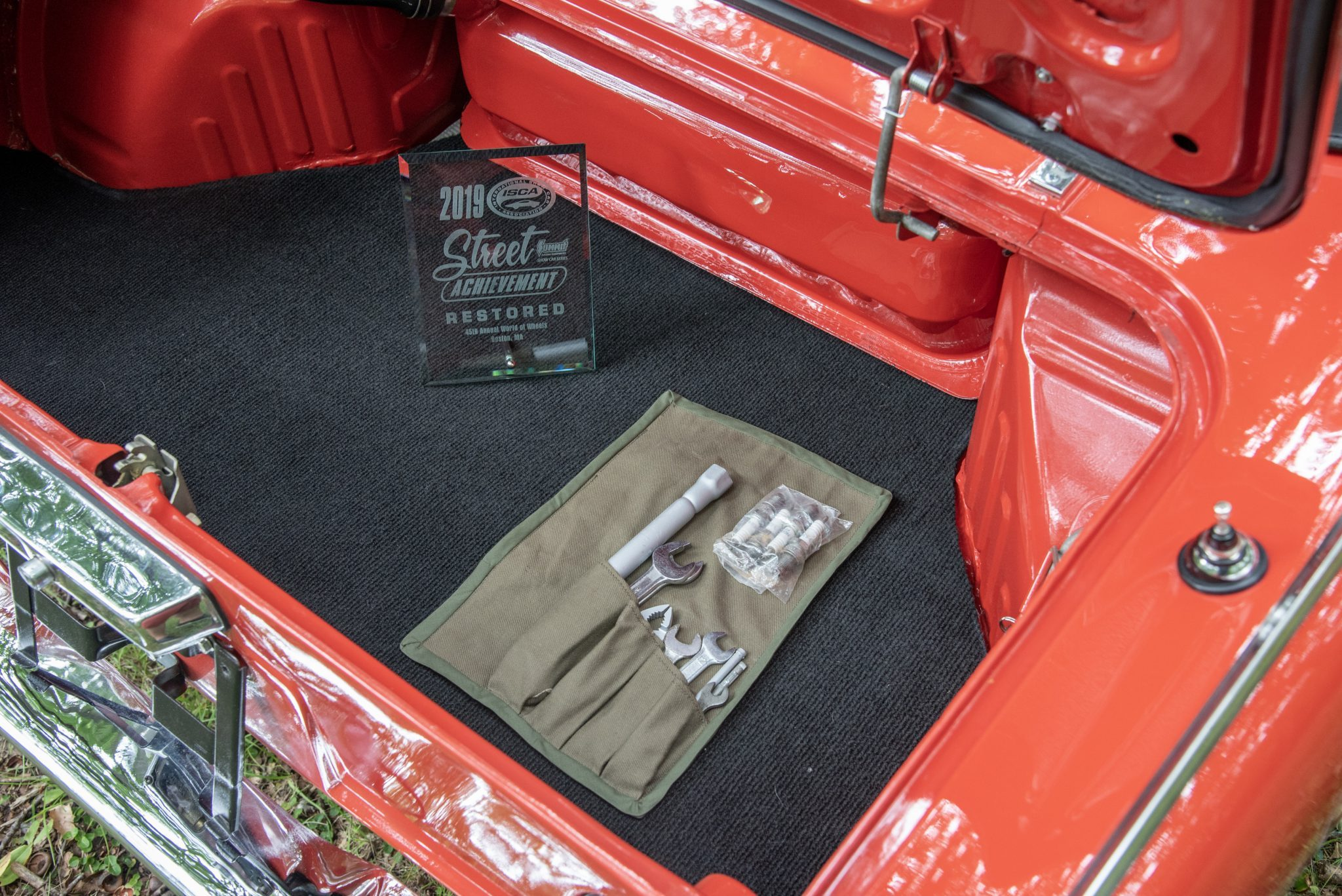 Honda S600 trunk interior toolkit