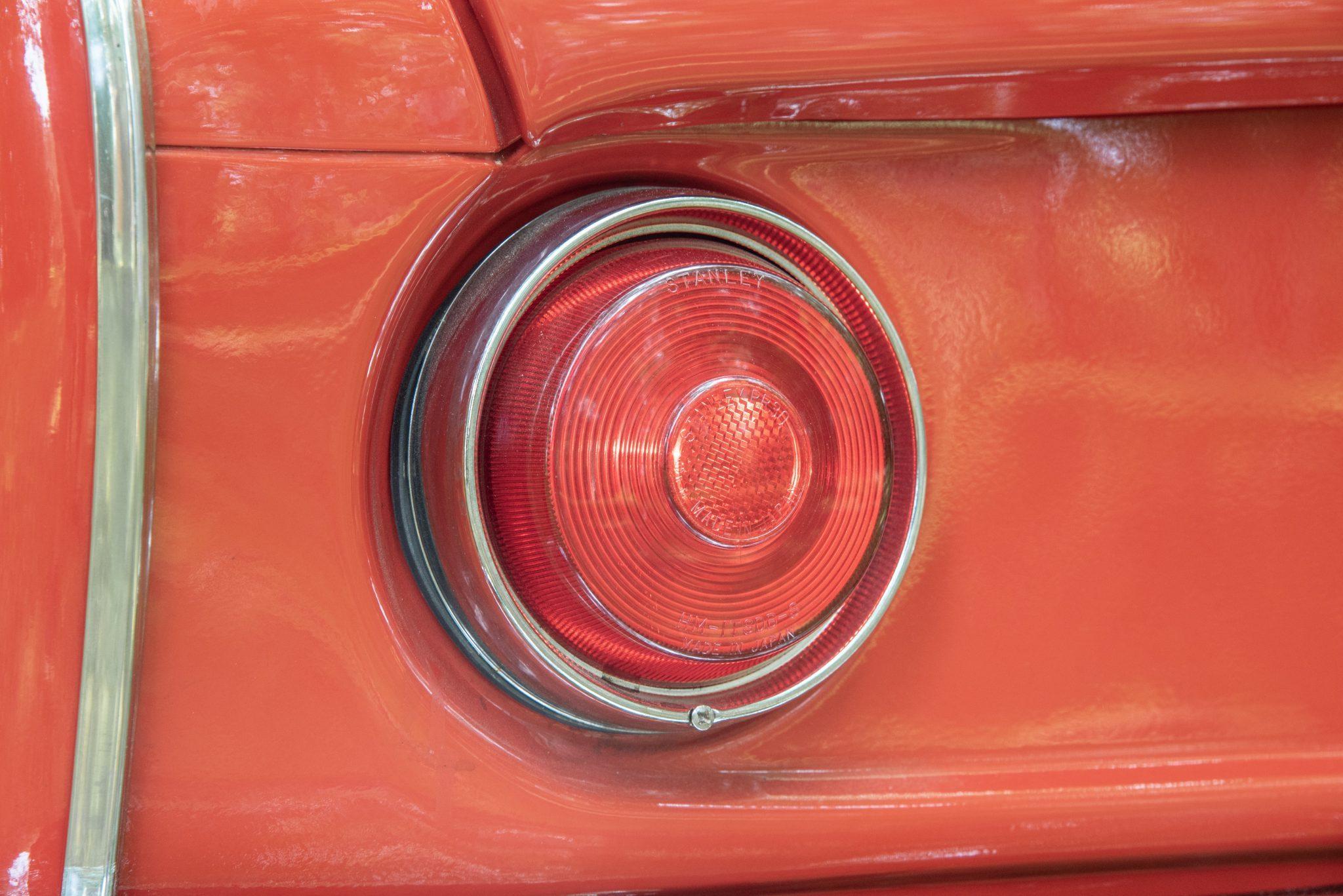 Honda S600 tailight detail