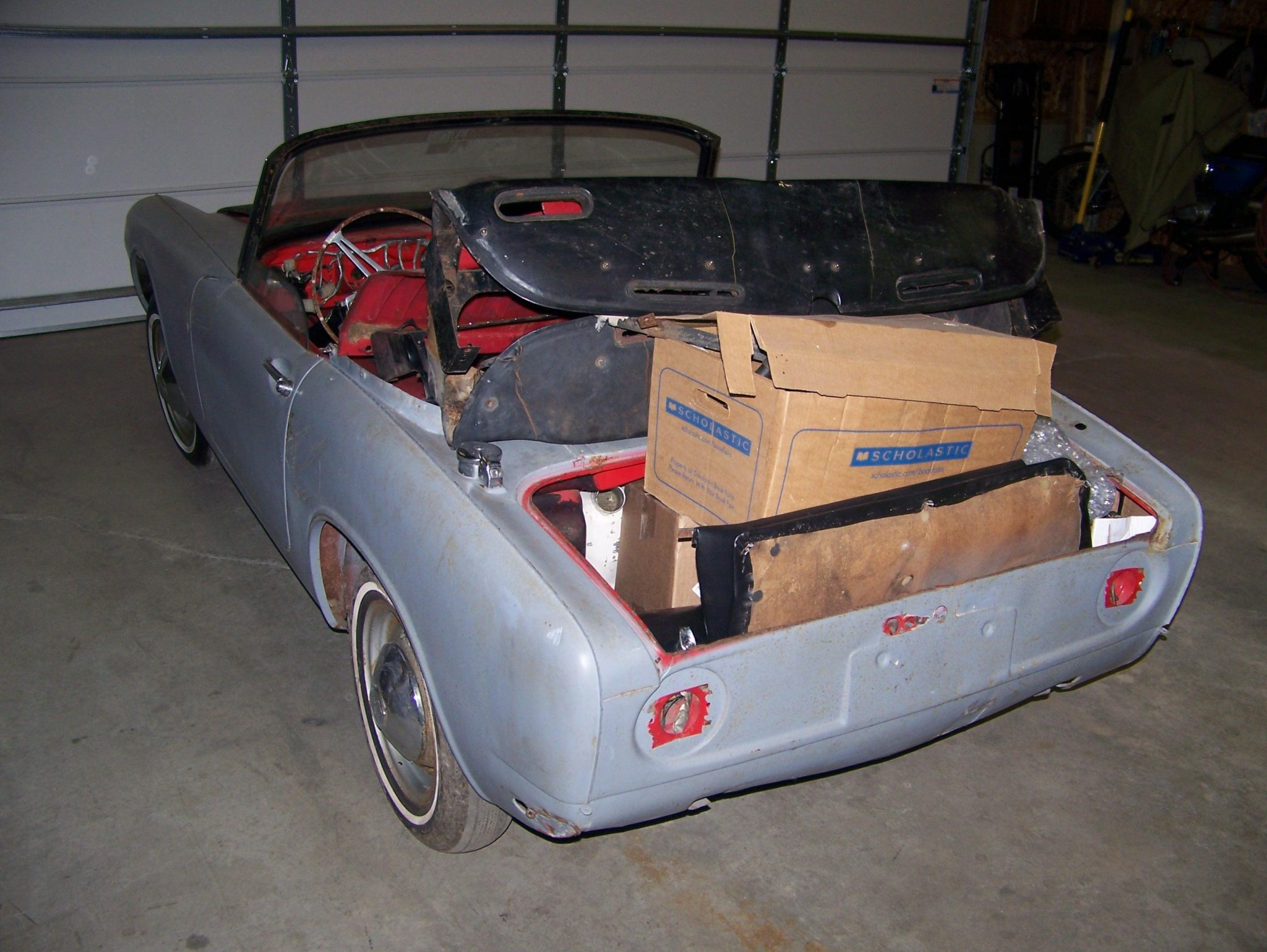 Honda S600 pre restoration
