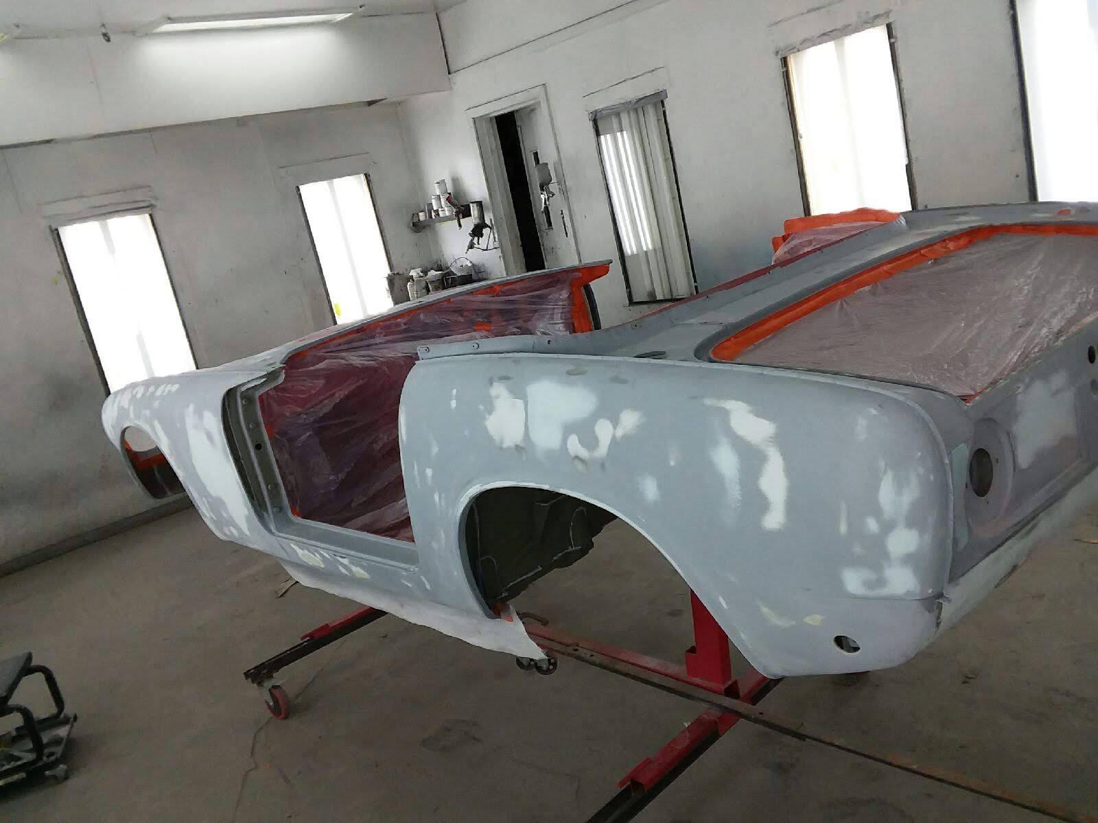 Honda S600 body pre restoration