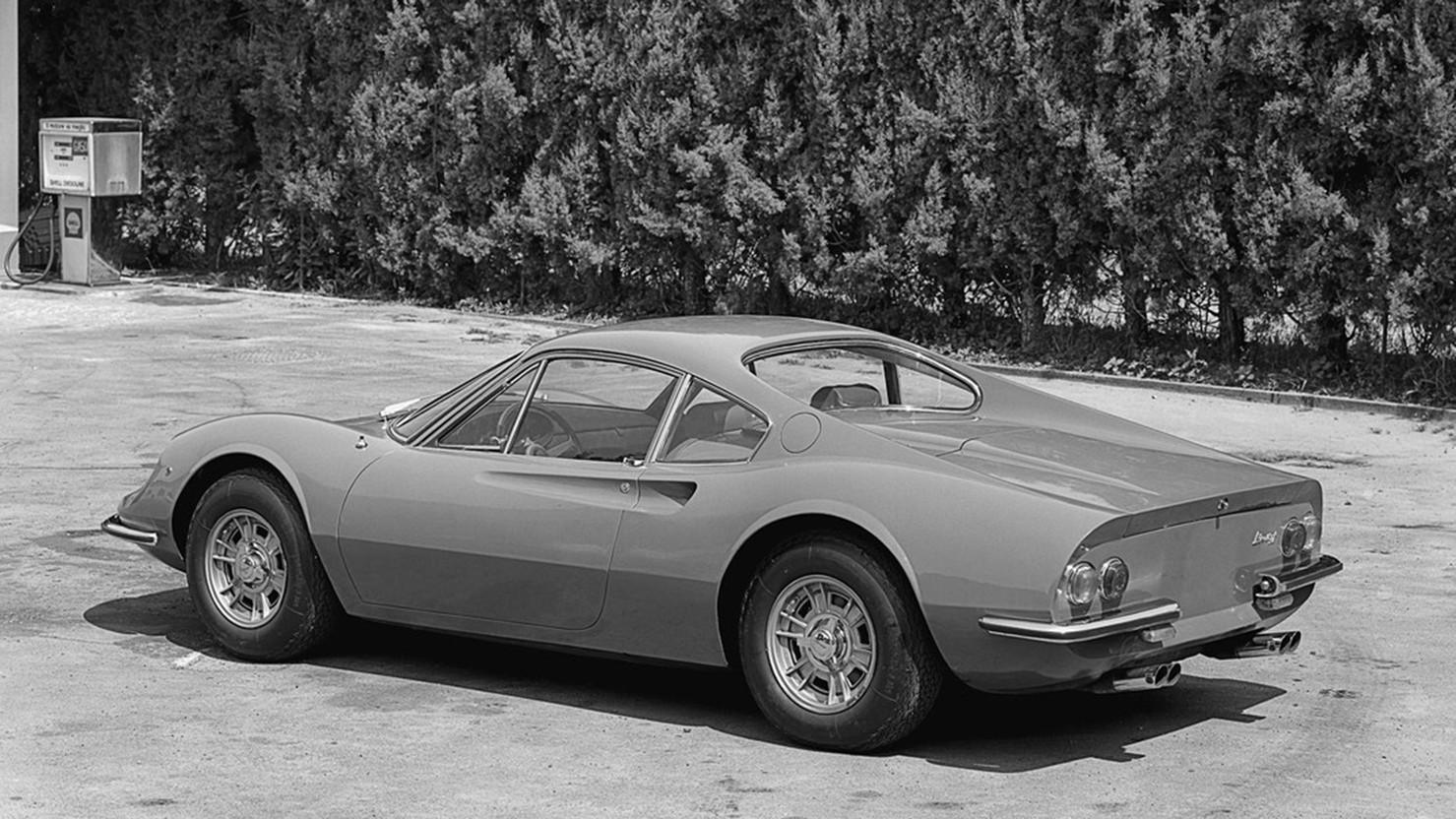 1969 Dino 246 GT Rear