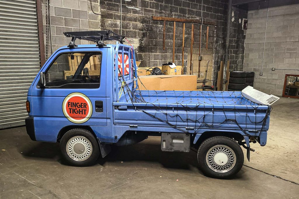 1990 Honda Acty Kei truck - Full profile