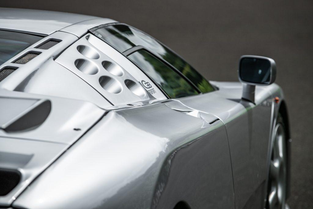 1994 Bugatti EB110 Super Sport side