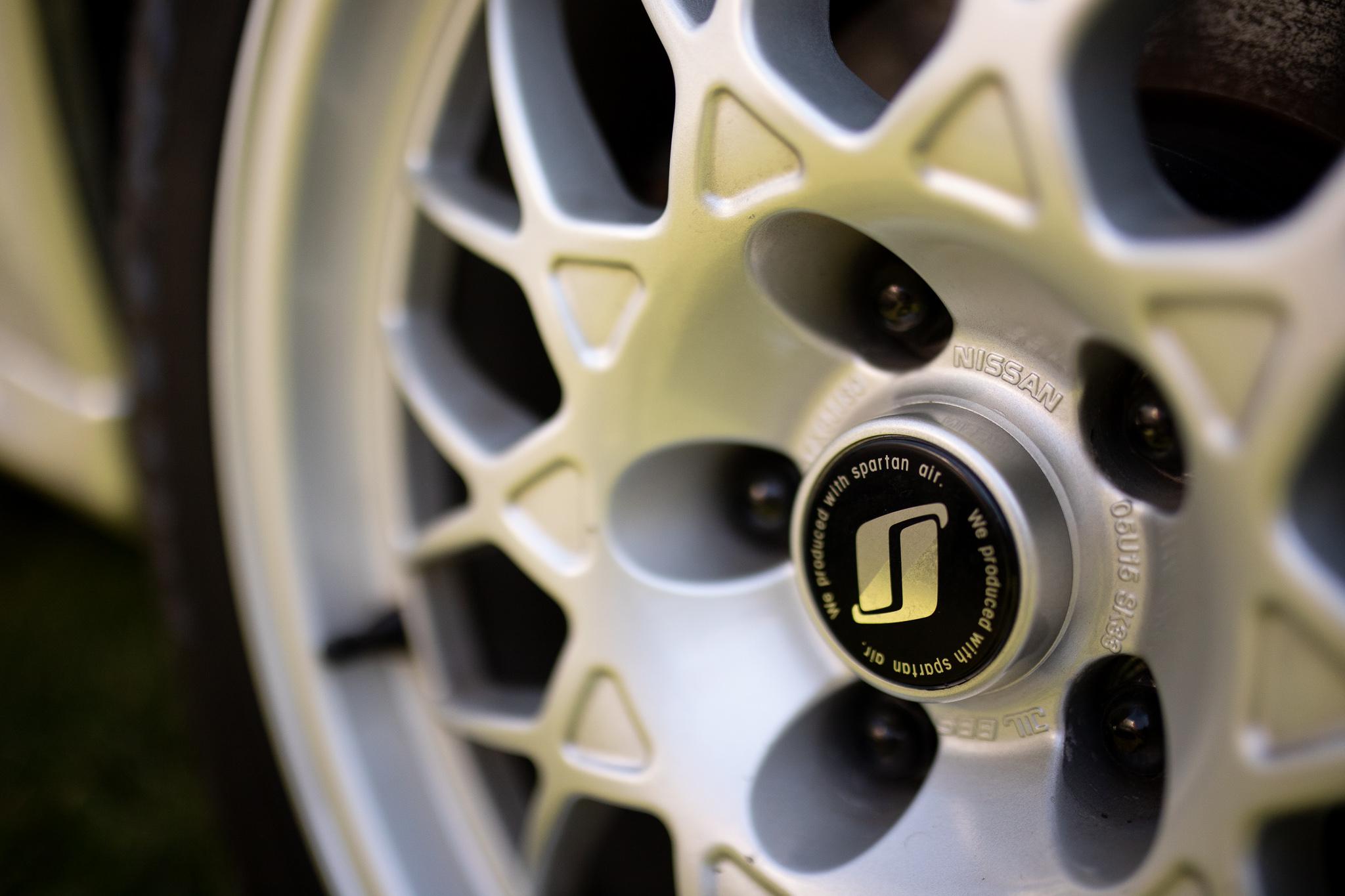 1994 Skyline GT-R V-Spec II wheel detail