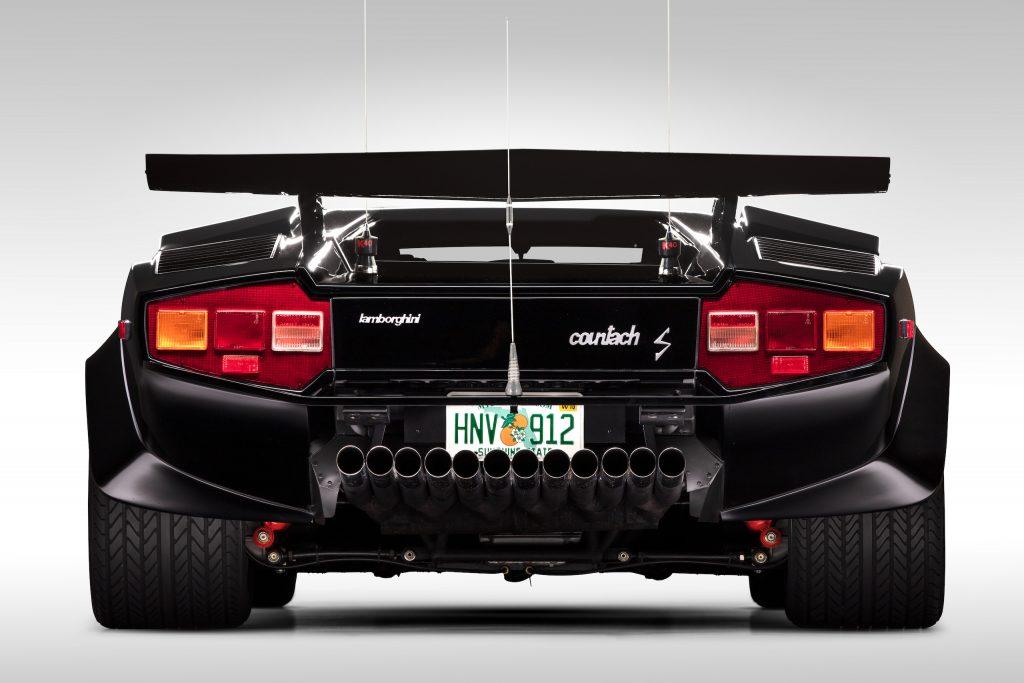 Countach Rear Profile