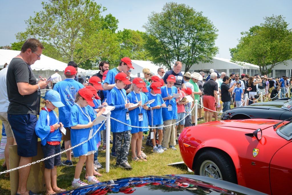 Greenwich concours hagerty youth judges