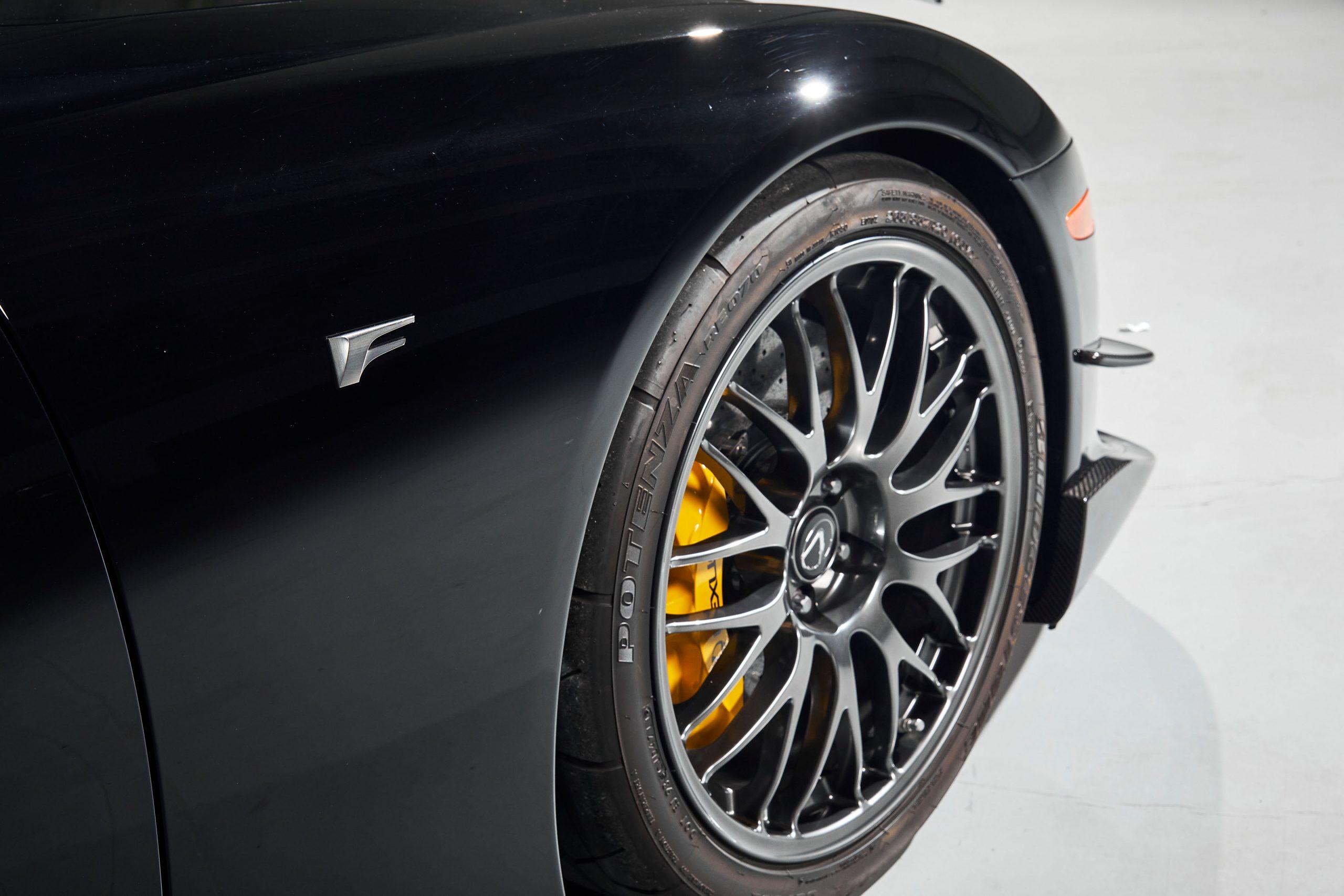 2012-Lexus-LFA-Nurburgring-Package front quarter panel wheel tire brake