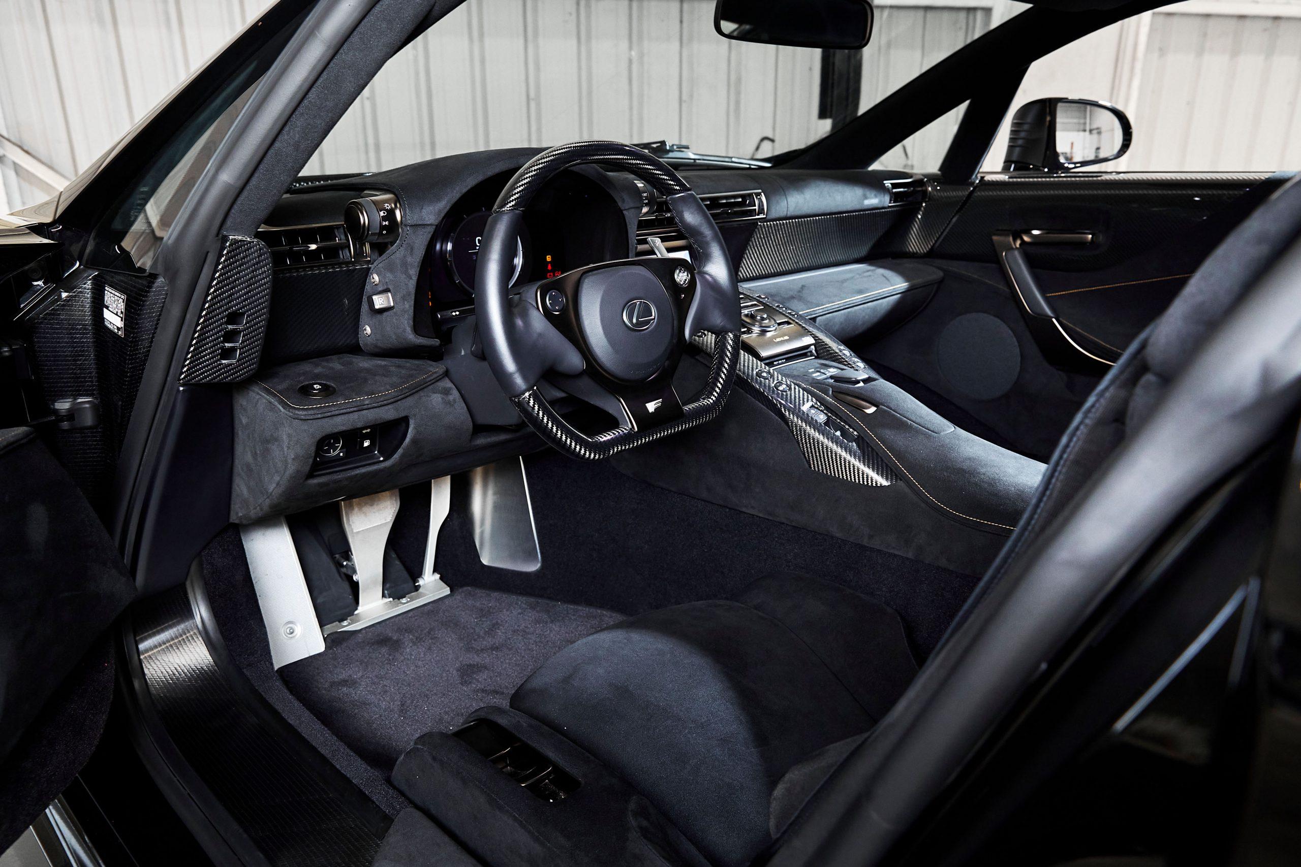 2012-Lexus-LFA-Nurburgring-Package interior