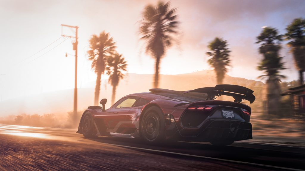 Virtual Mercedes-AMG Project ONE Forza Horizon 5 video game