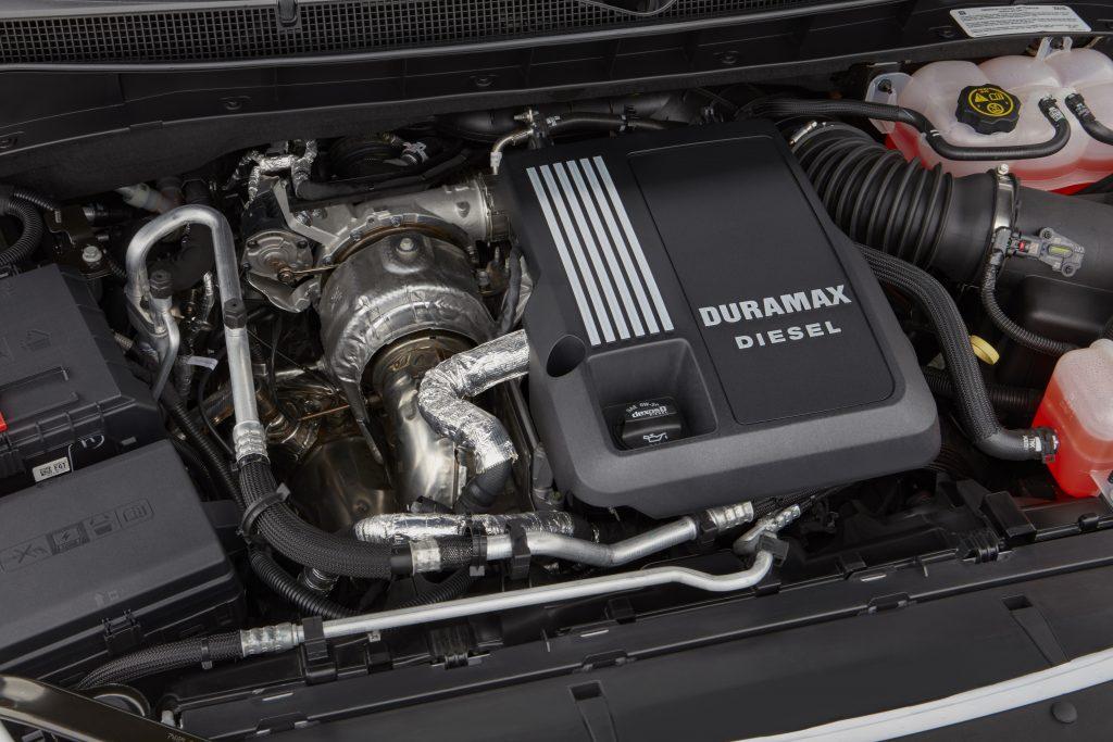 2021 Chevrolet Tahoe LS with the 3.0 liter Duramax Turbo-Diesel