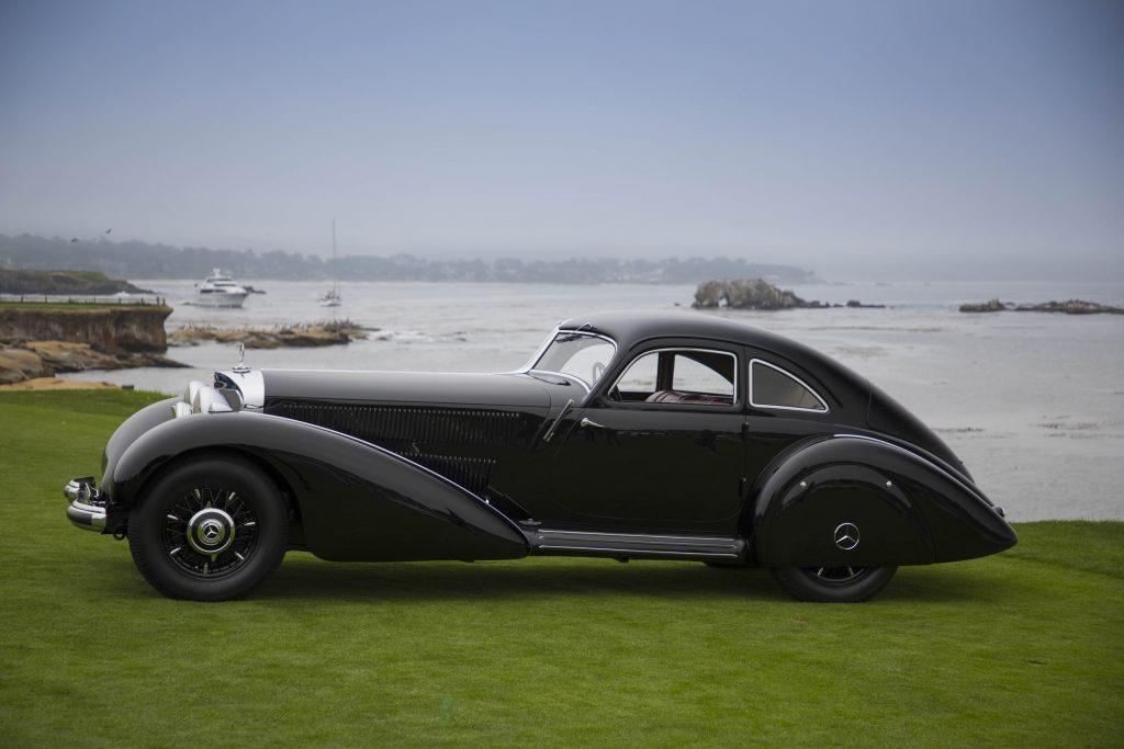 2021 Pebble Beach Concours - Best in Show - 1938 Mercedes-Benz Autobahn Kurier 1 (Evan Klein)