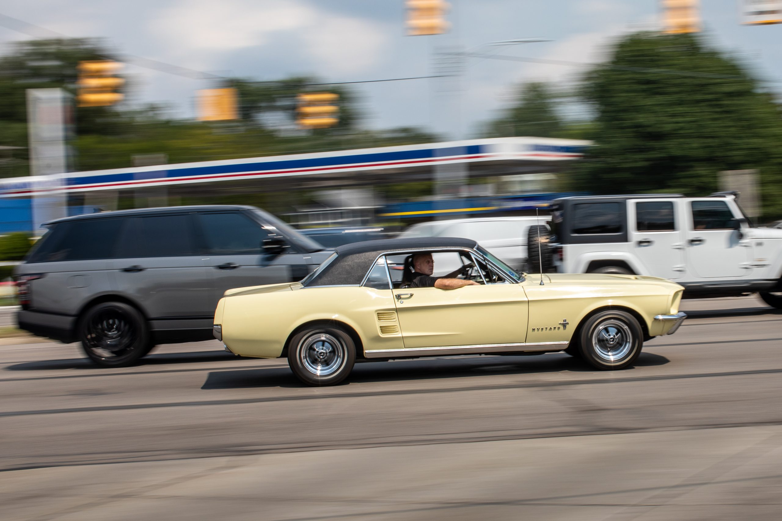 2021 Dream Cruise woodward ave classic mustang