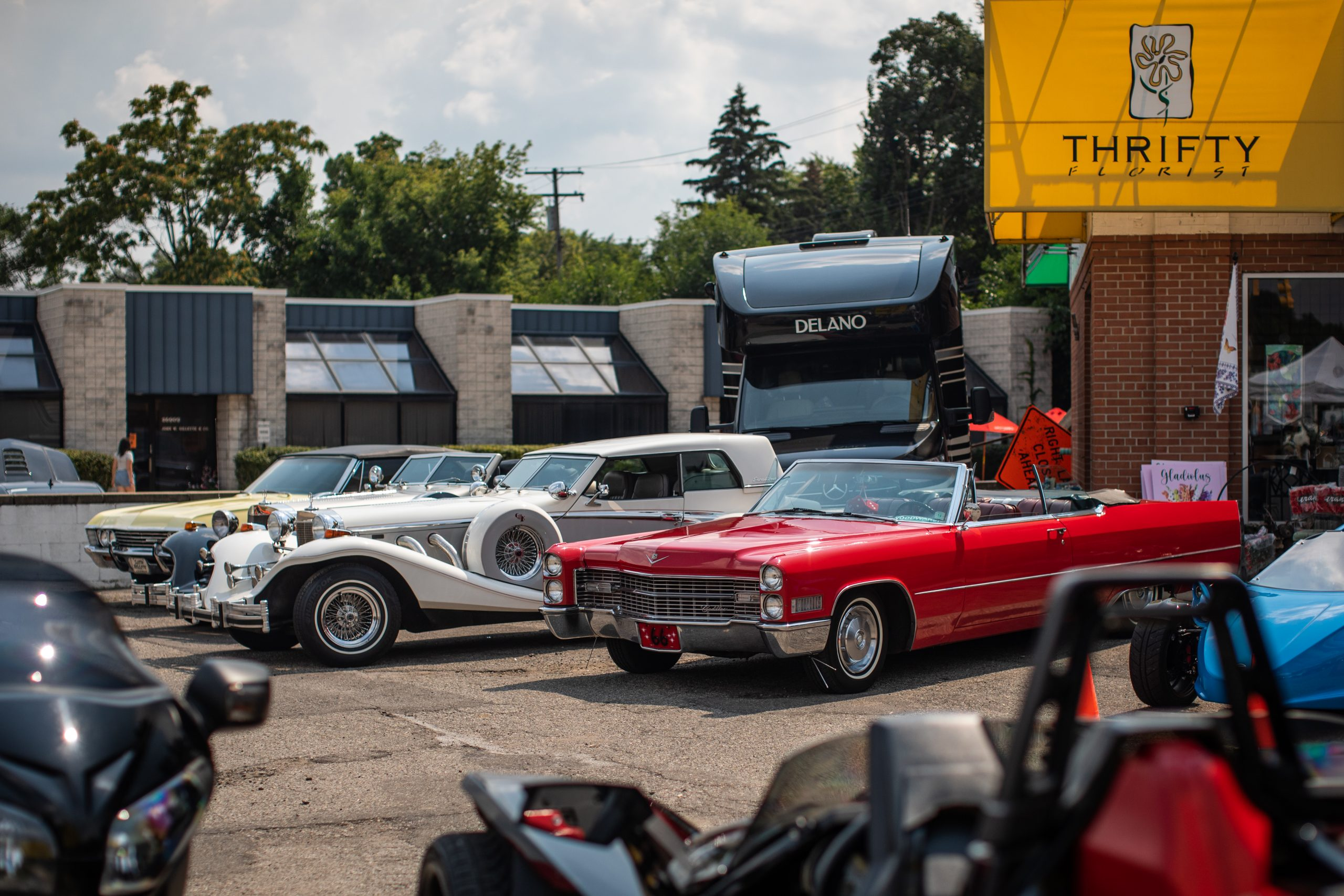 2021 Dream Cruise woodward ave thrifty florist lot