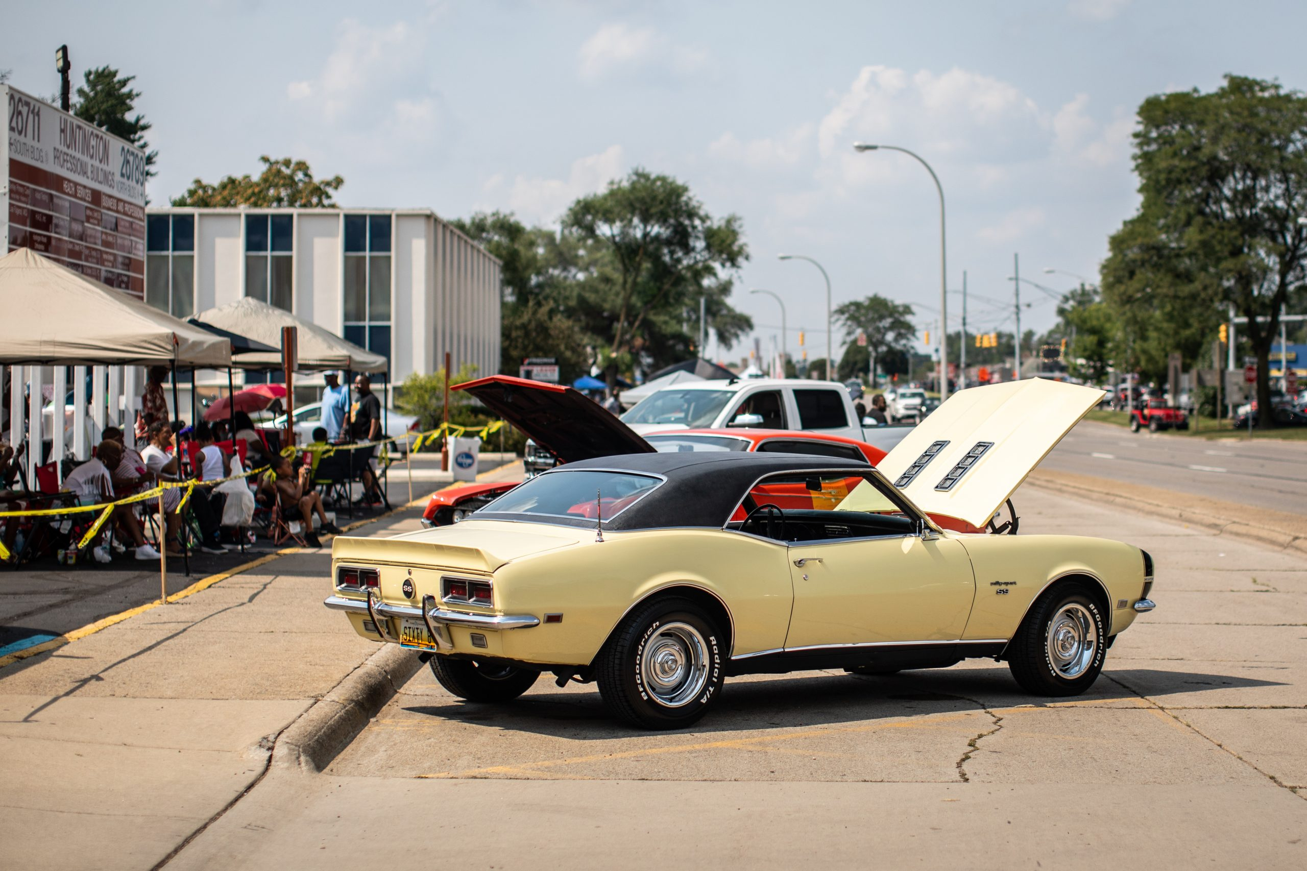 2021 Dream Cruise woodward ave route hoods up