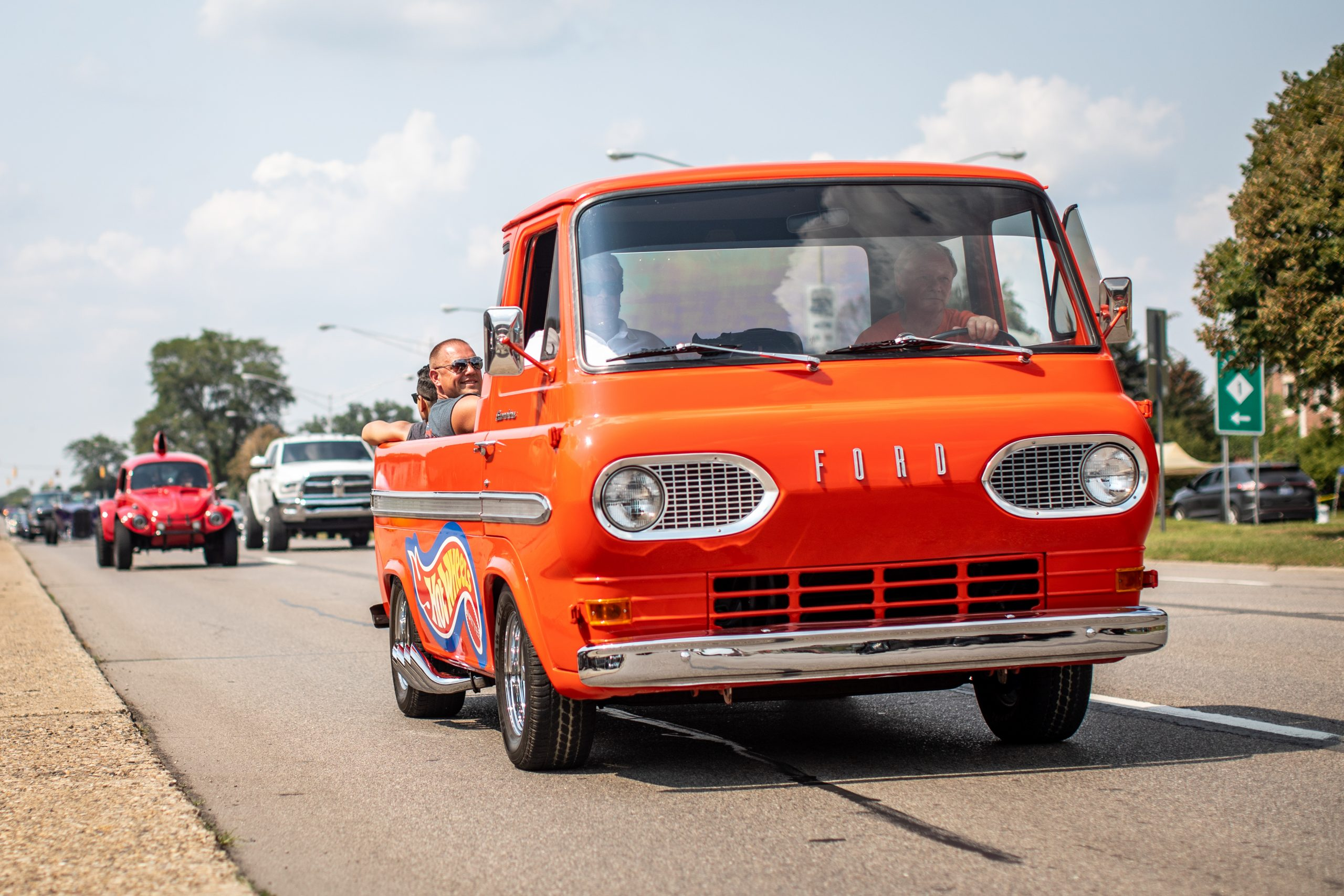2021 Dream Cruise woodward ave action ford hot wheels truck