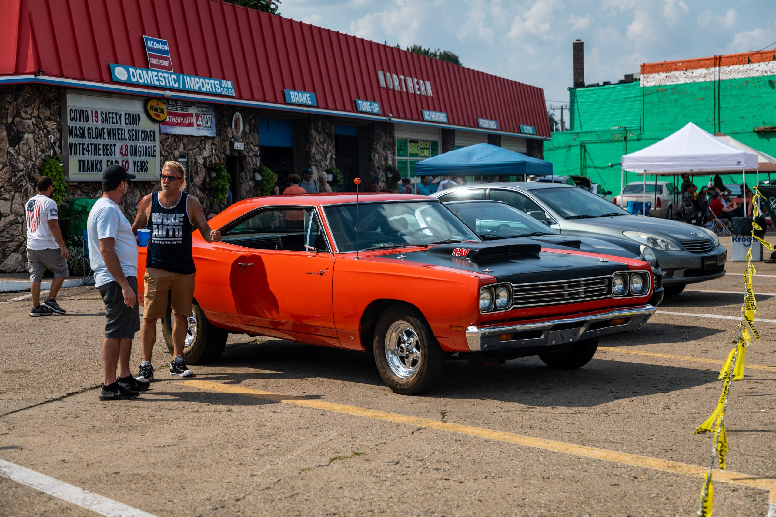 2021 Dream Cruise woodward ave action muscle car patrons