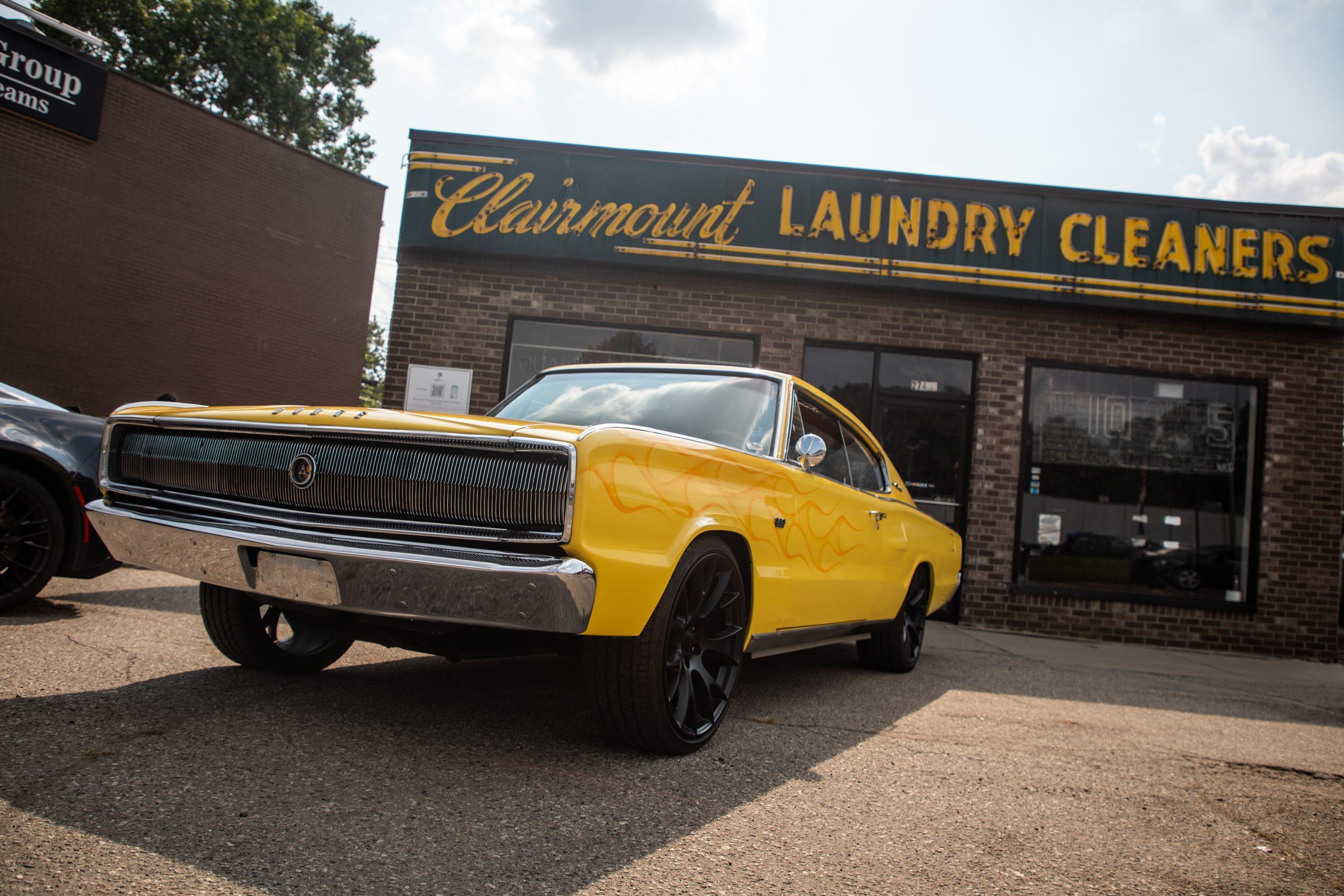 2021 Dream Cruise woodward ave action dodge clairmount laundry