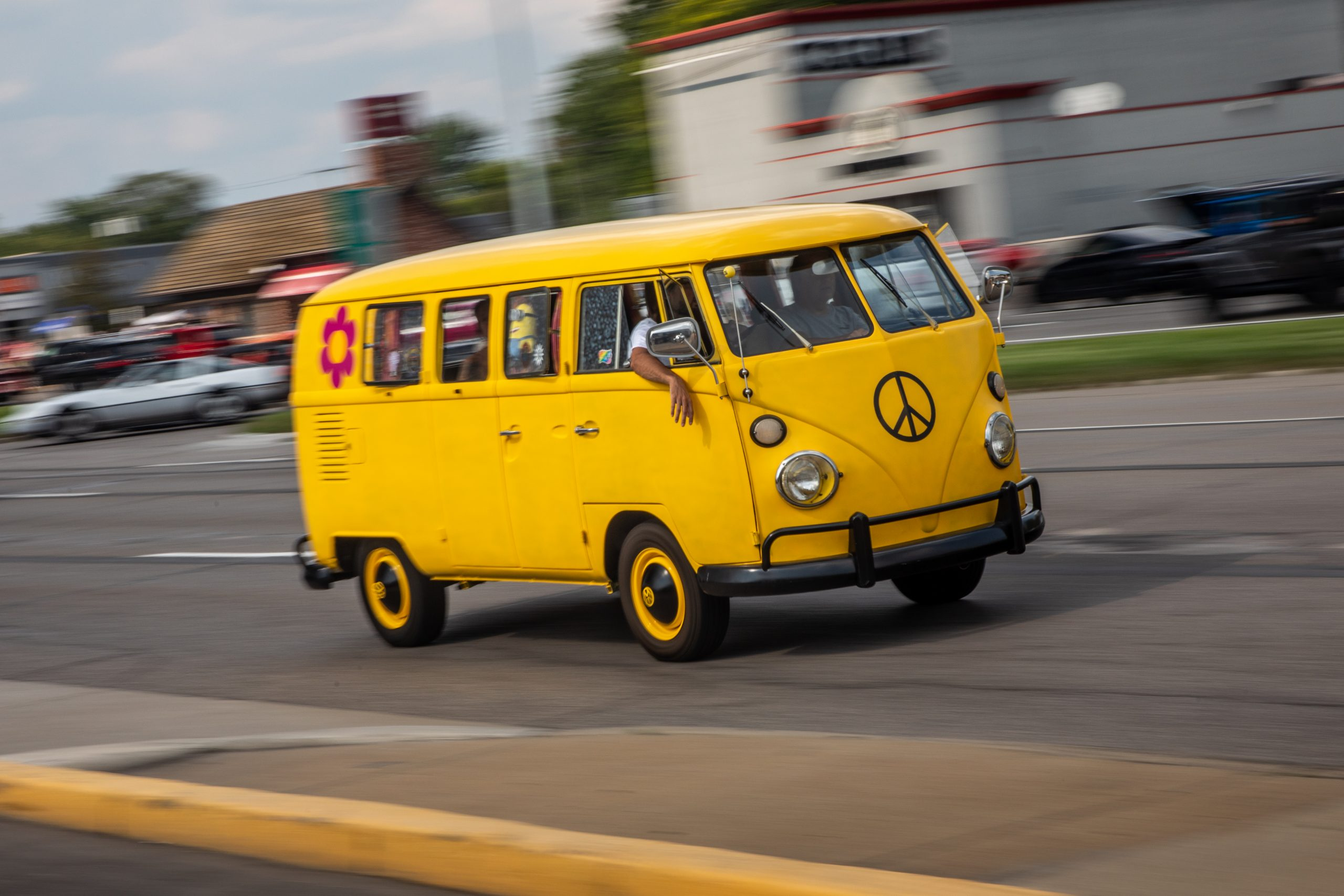 2021 Dream Cruise woodward ave action vw bus