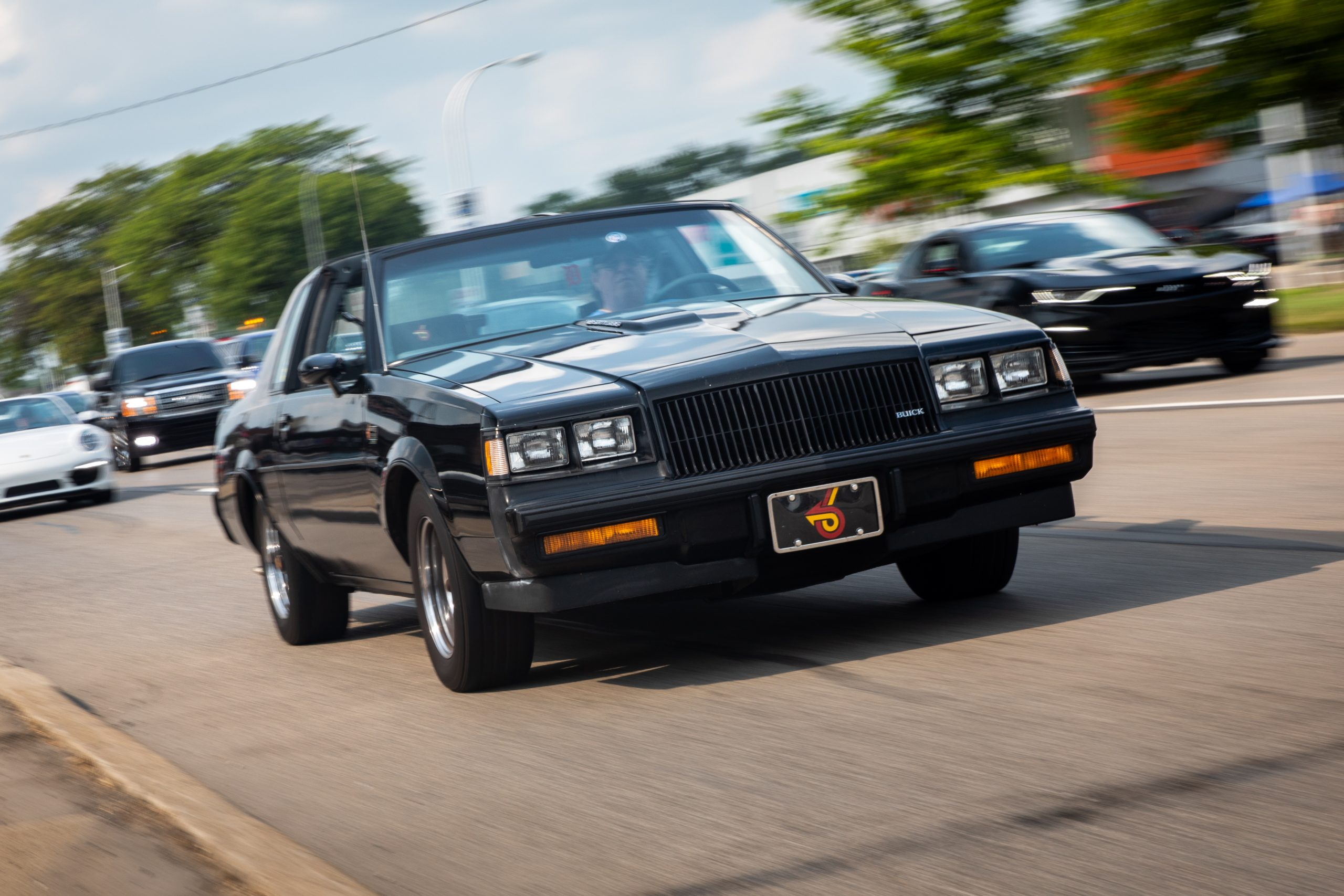 2021 Dream Cruise woodward ave action buick gnx