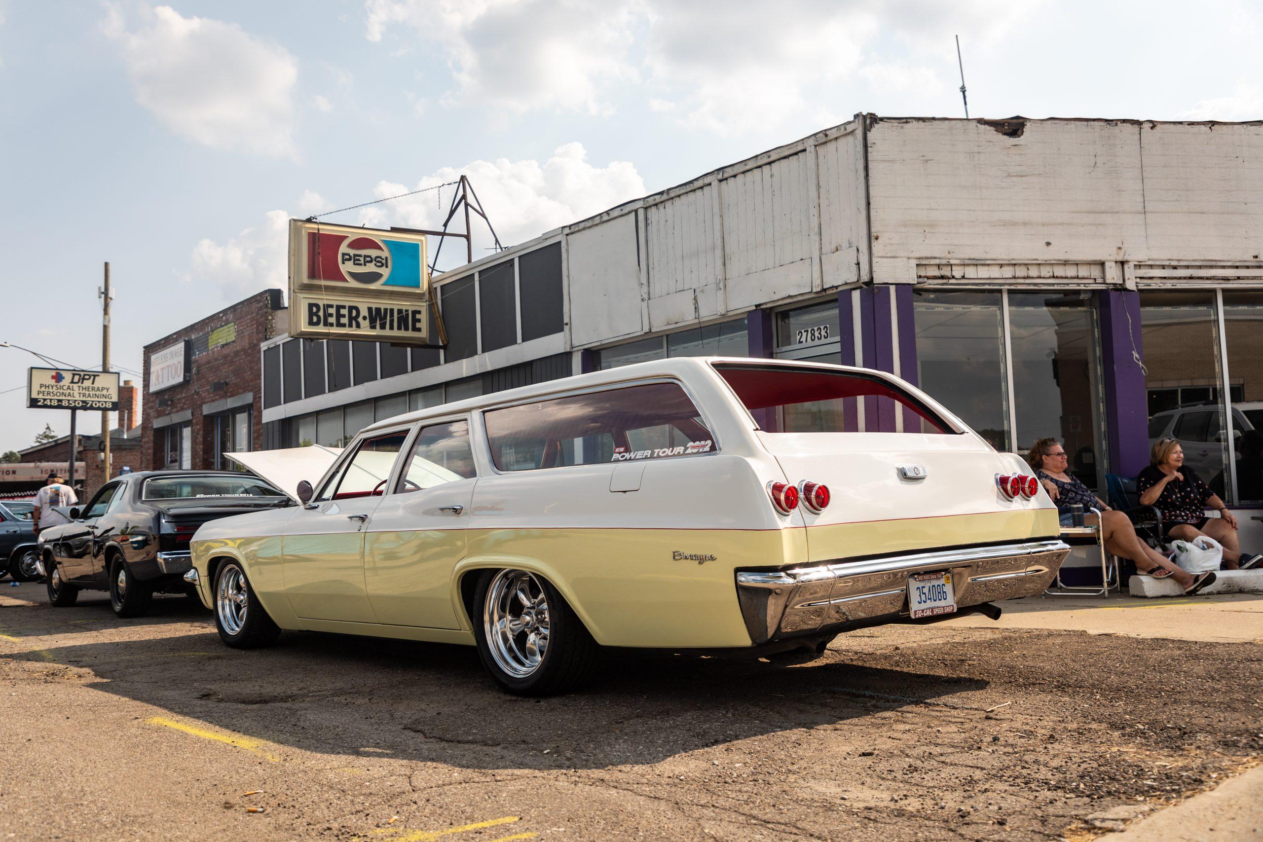 2021 Dream Cruise woodward ave action custom wagon