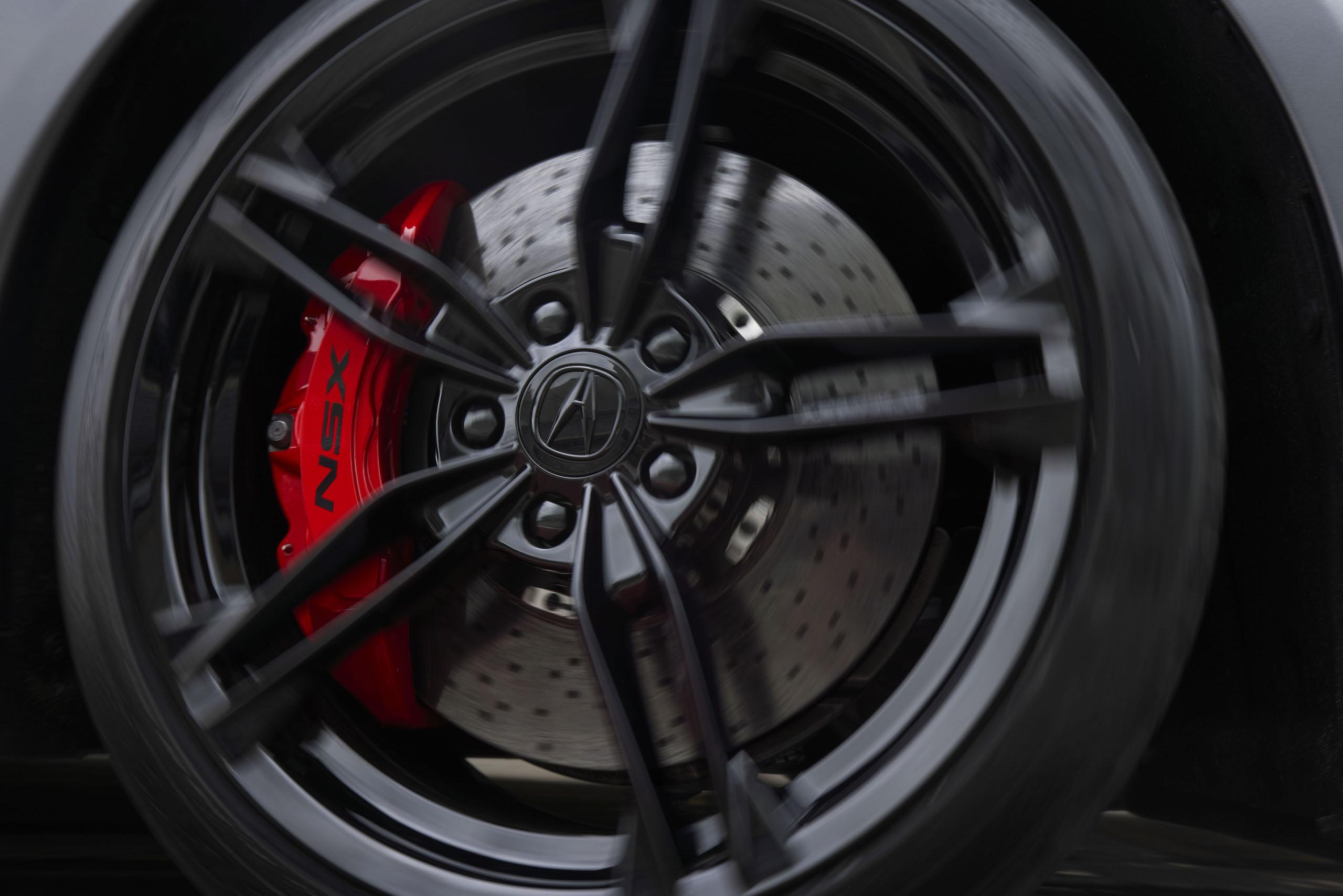 2022 Acura NSX Type wheel brake tire action