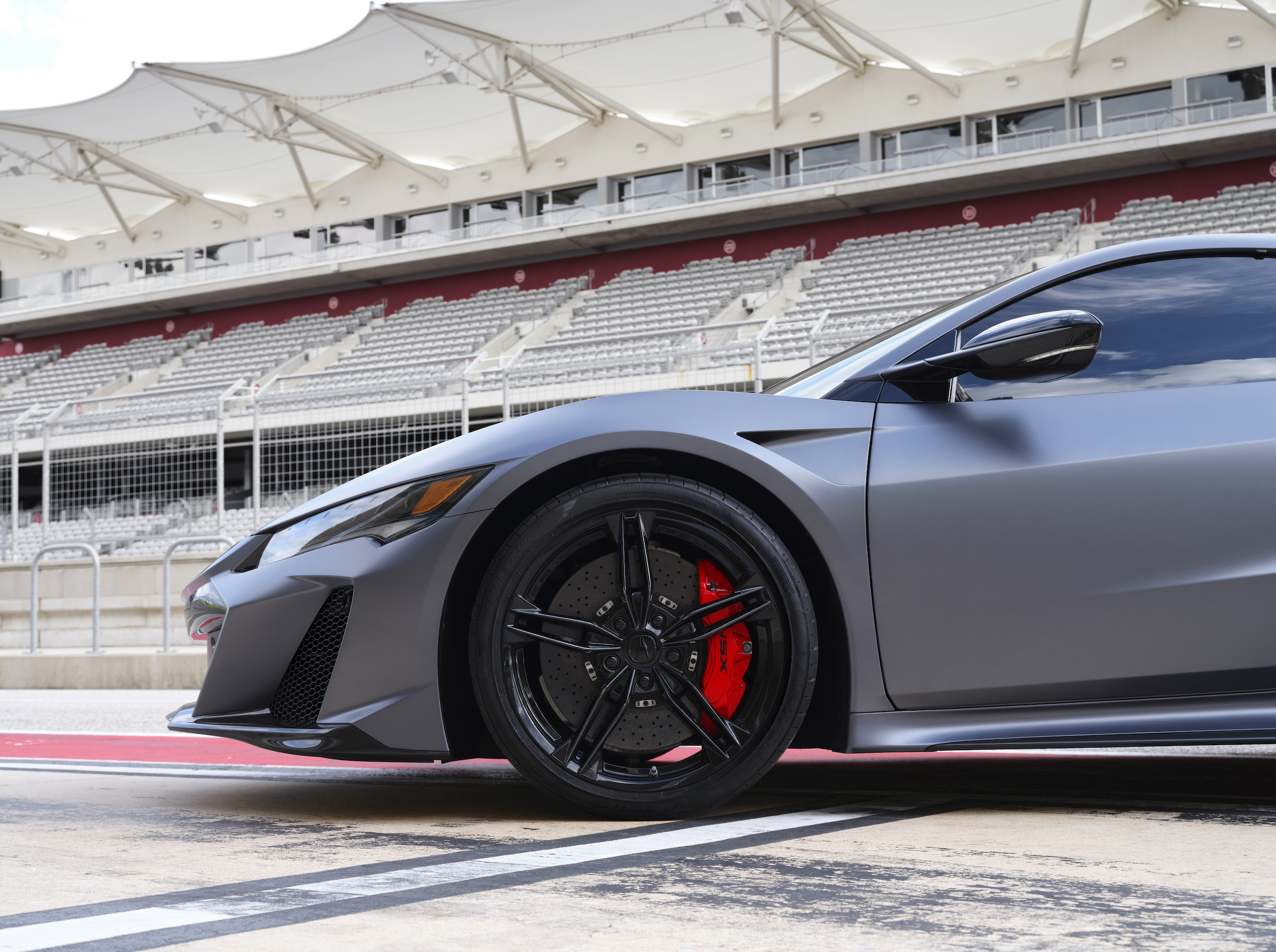 2022 Acura NSX Type S front end profile