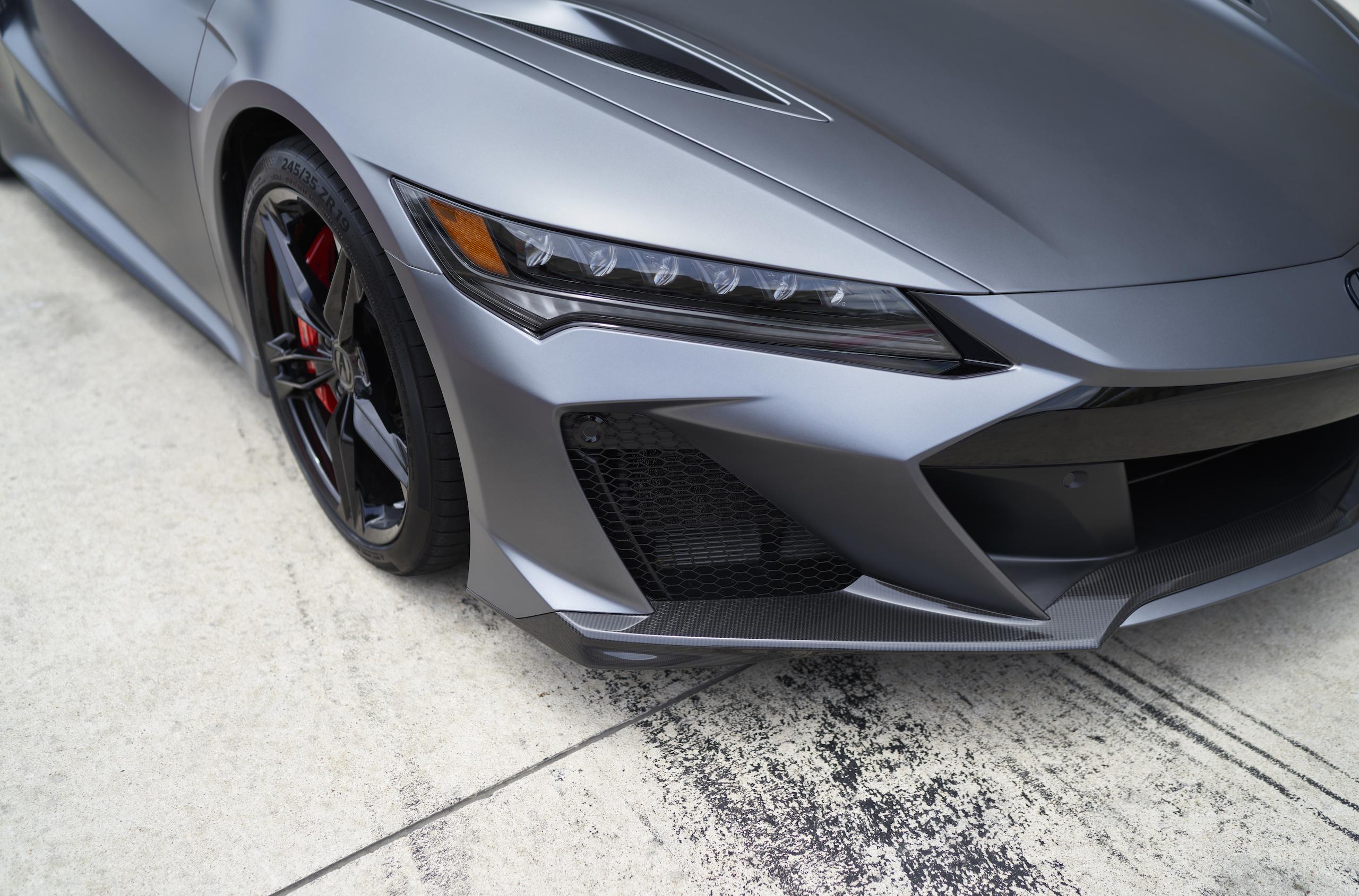 2022 Acura NSX Type S headlight