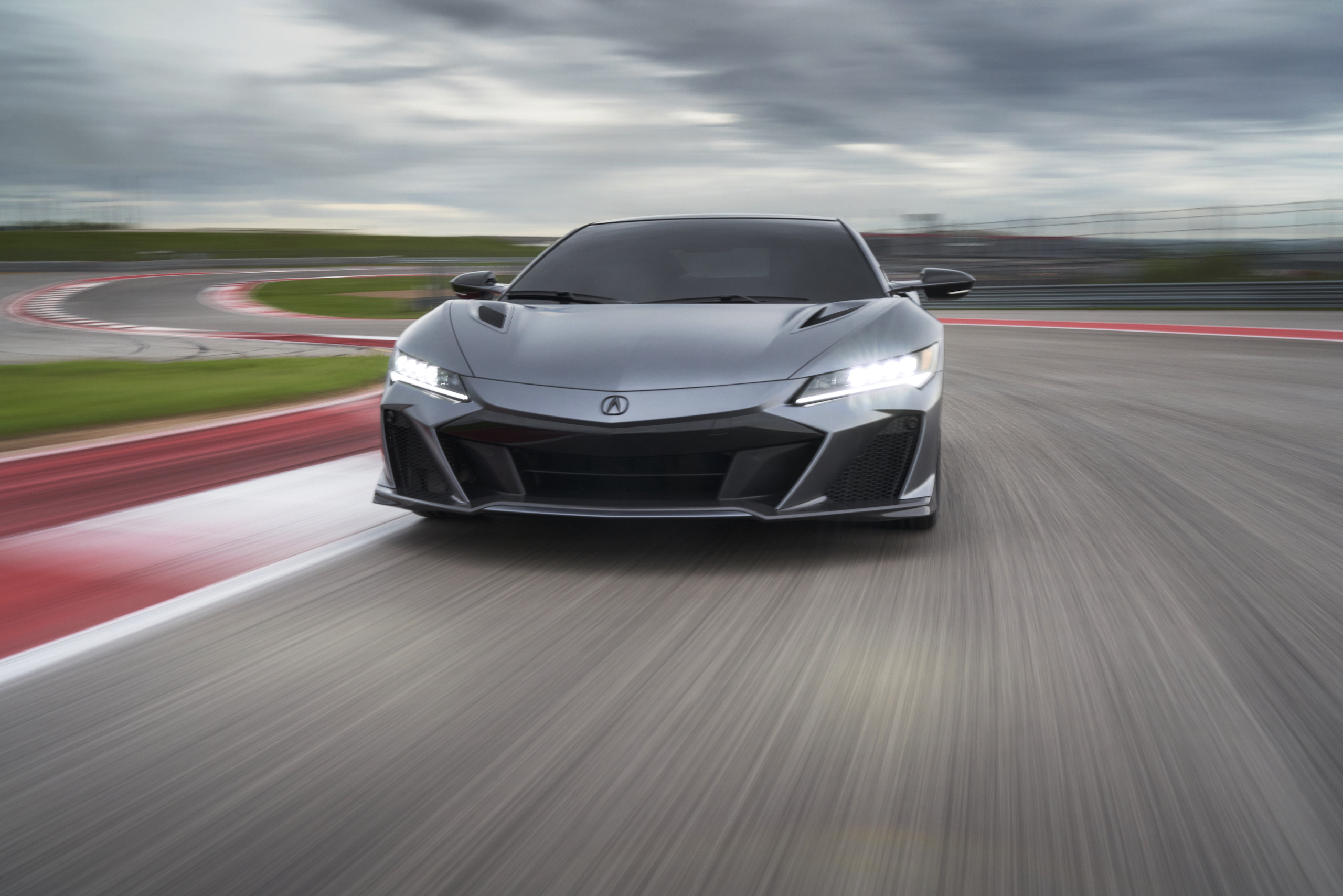 2022 Acura NSX Type S front track action