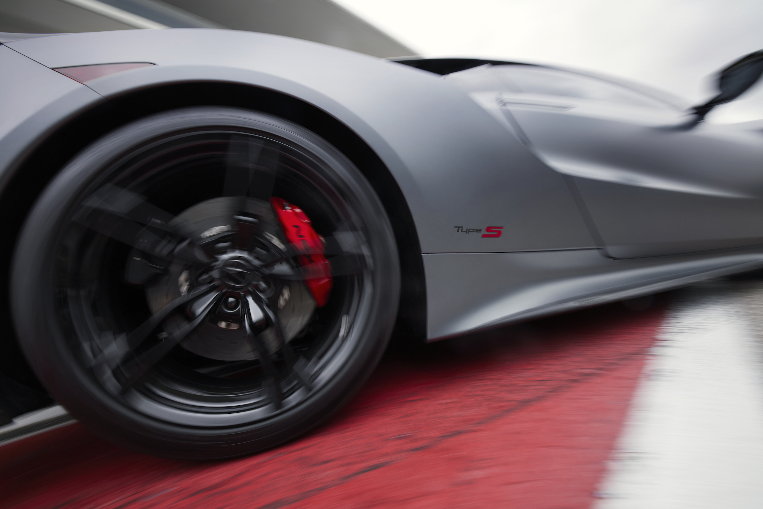 2022 Acura NSX Type S front quarter panel action