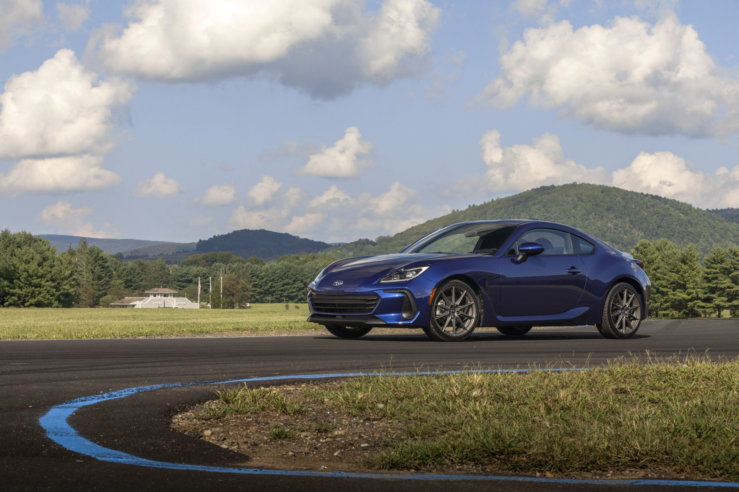 2022 Subaru BRZ front three-quarter